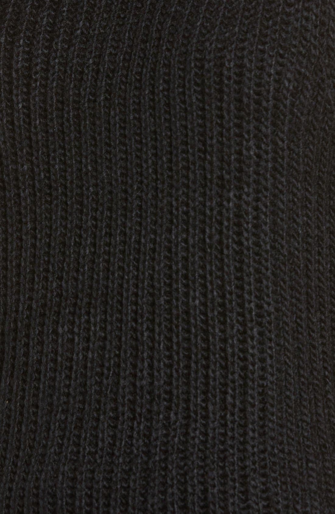ASTR High/Low Turtleneck Sweater,                             Alternate thumbnail 2, color,                             001