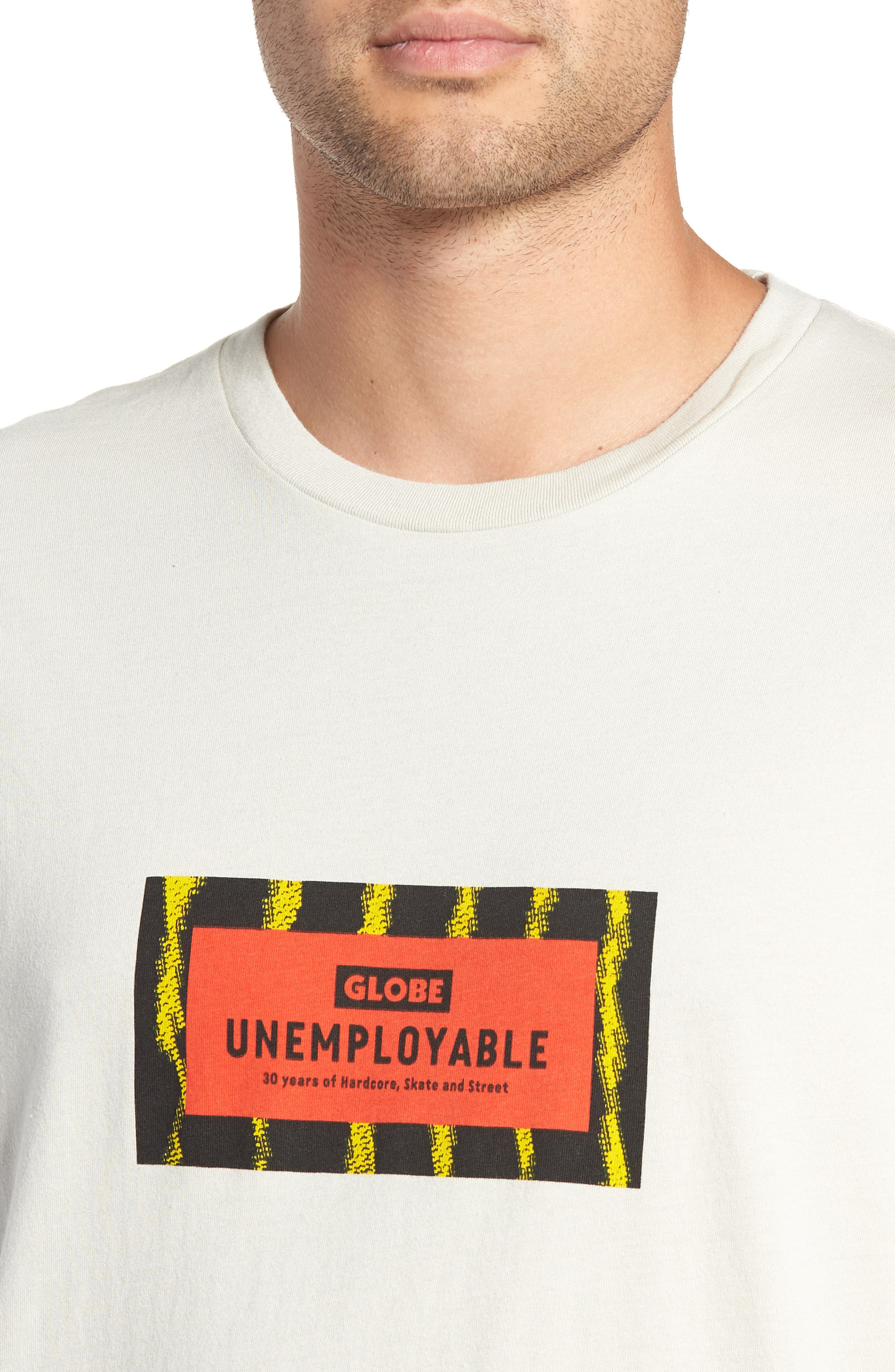 GLOBE,                             Unemployable Captain T-Shirt,                             Alternate thumbnail 4, color,                             900
