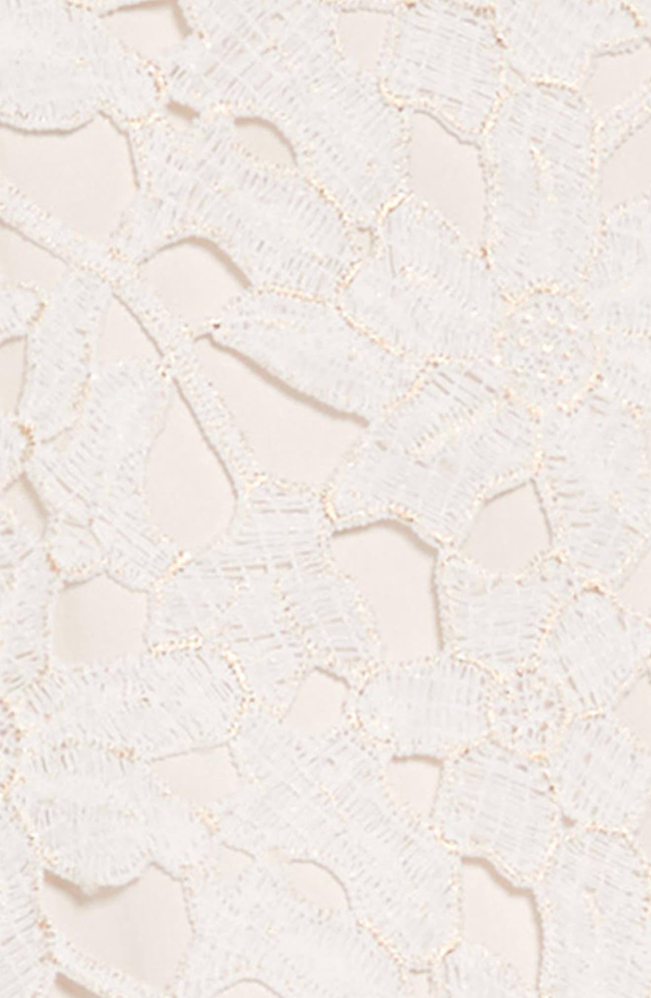 Lace Bodice Tulle Dress,                             Alternate thumbnail 3, color,                             113