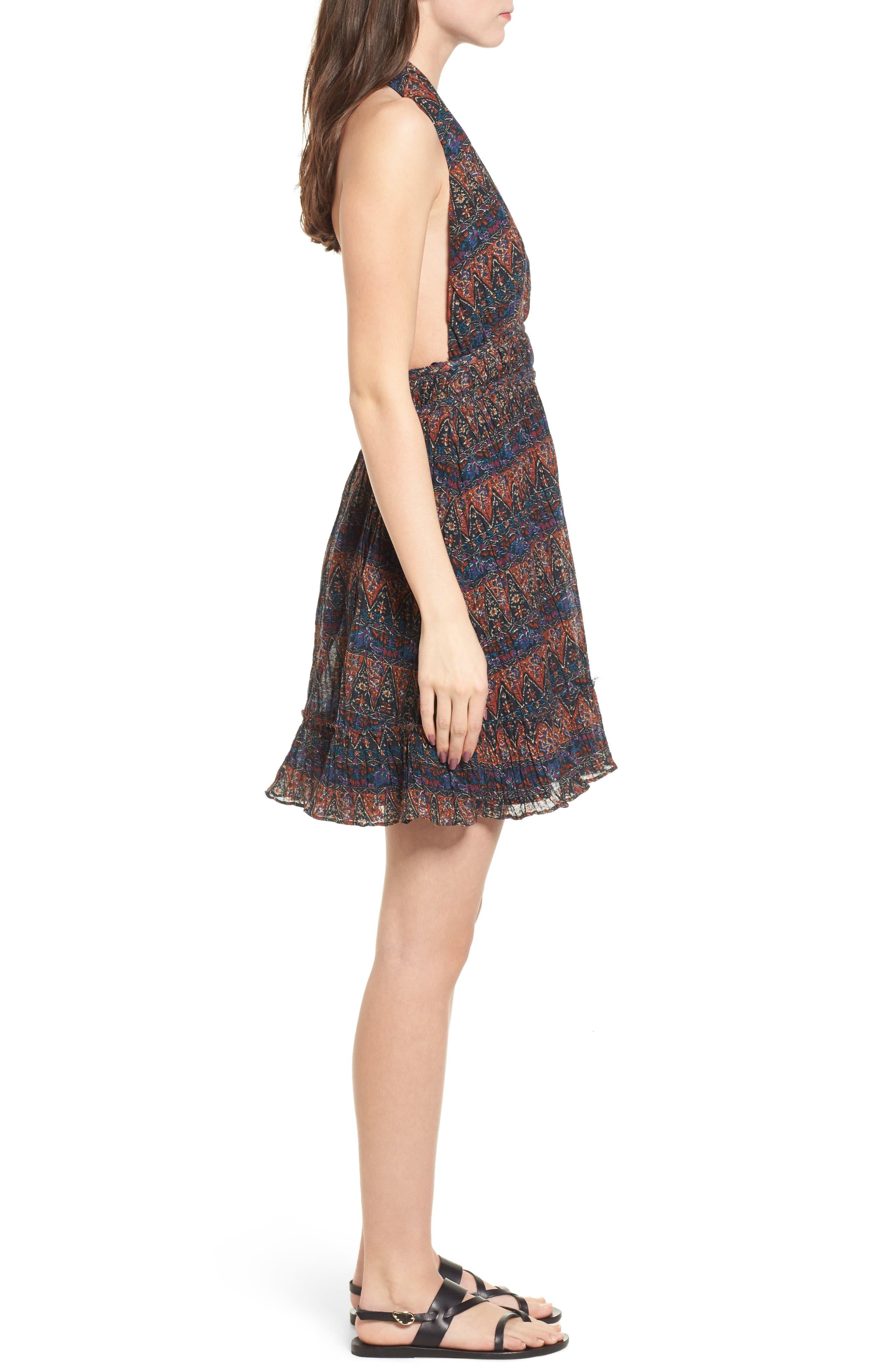 Bali Halter Dress,                             Alternate thumbnail 3, color,