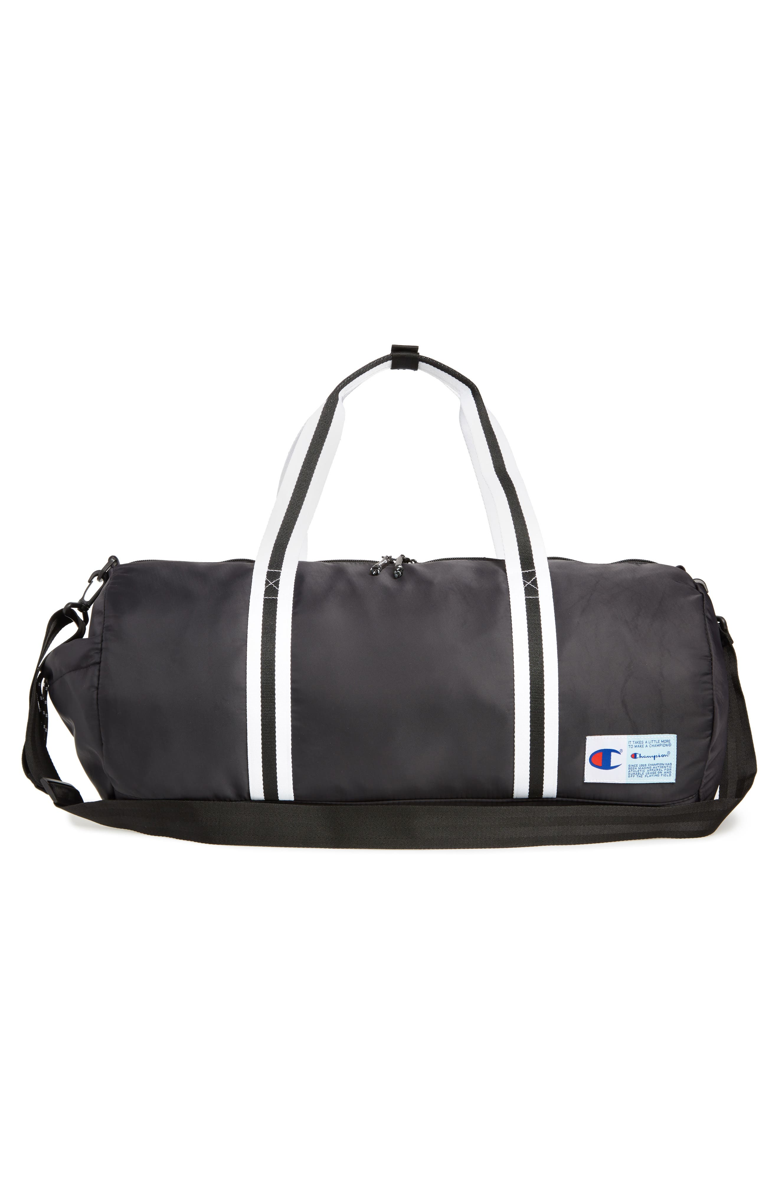 Free Form Duffel Bag,                             Alternate thumbnail 3, color,                             BLACK