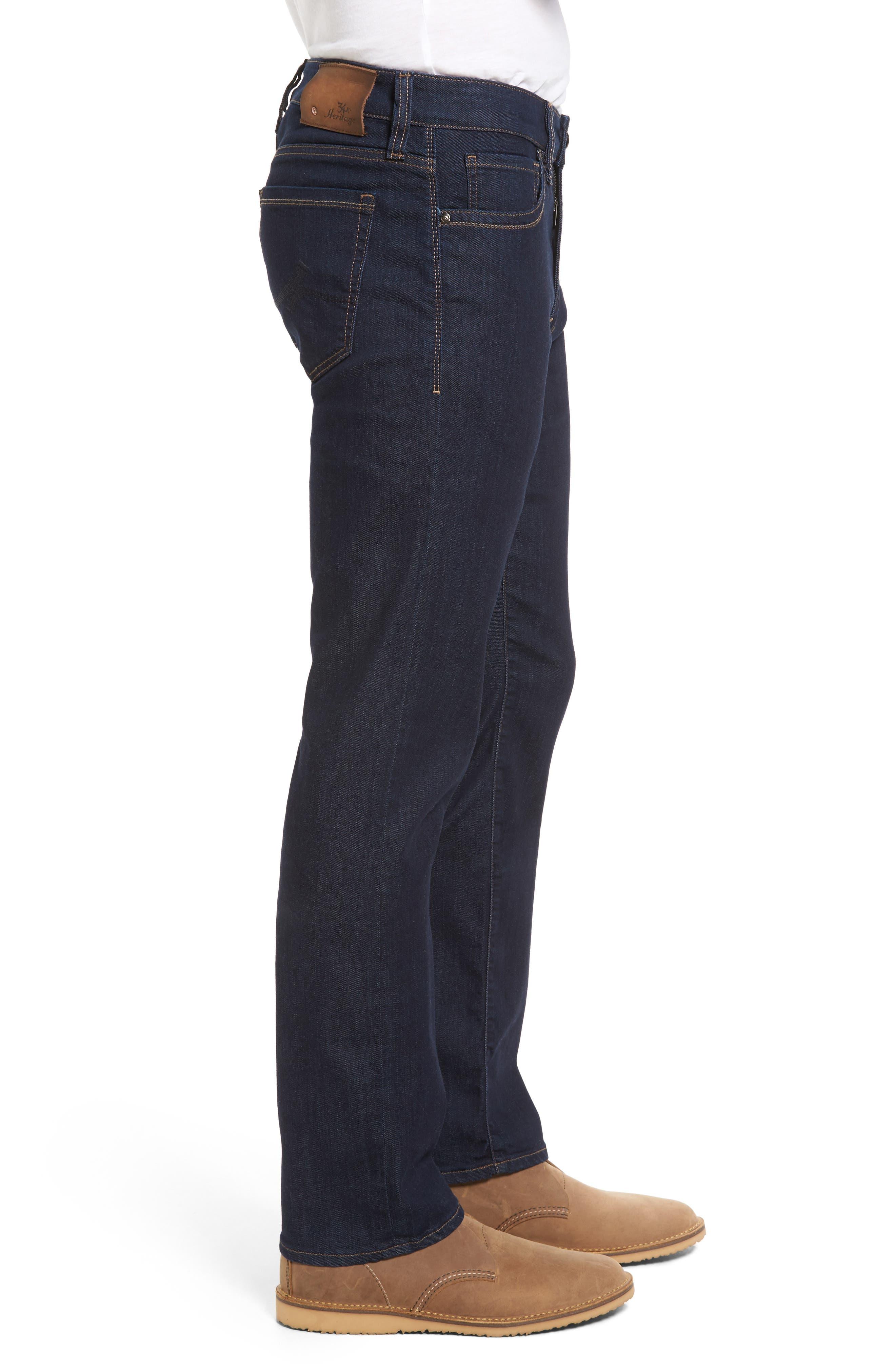 Courage Straight Leg Jeans,                             Alternate thumbnail 3, color,                             RINSE VINTAGE