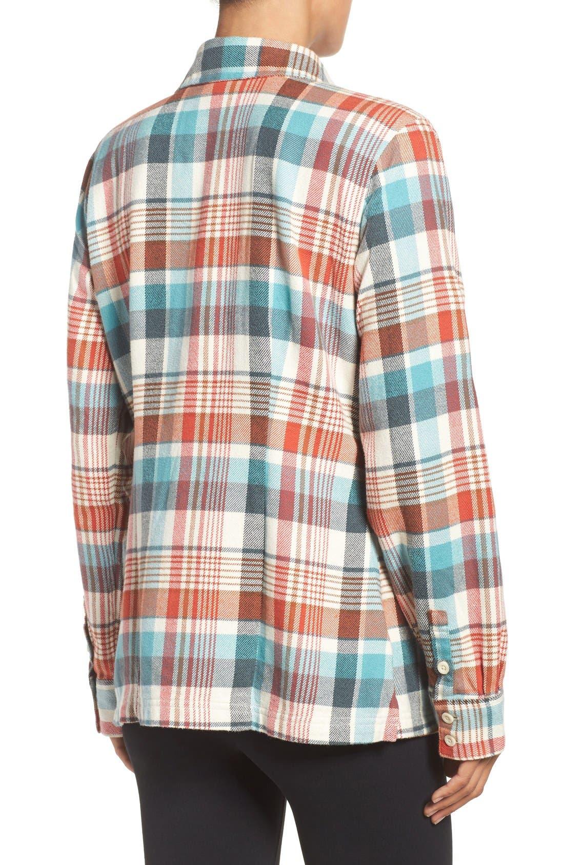 'Fjord' Flannel Shirt,                             Alternate thumbnail 25, color,