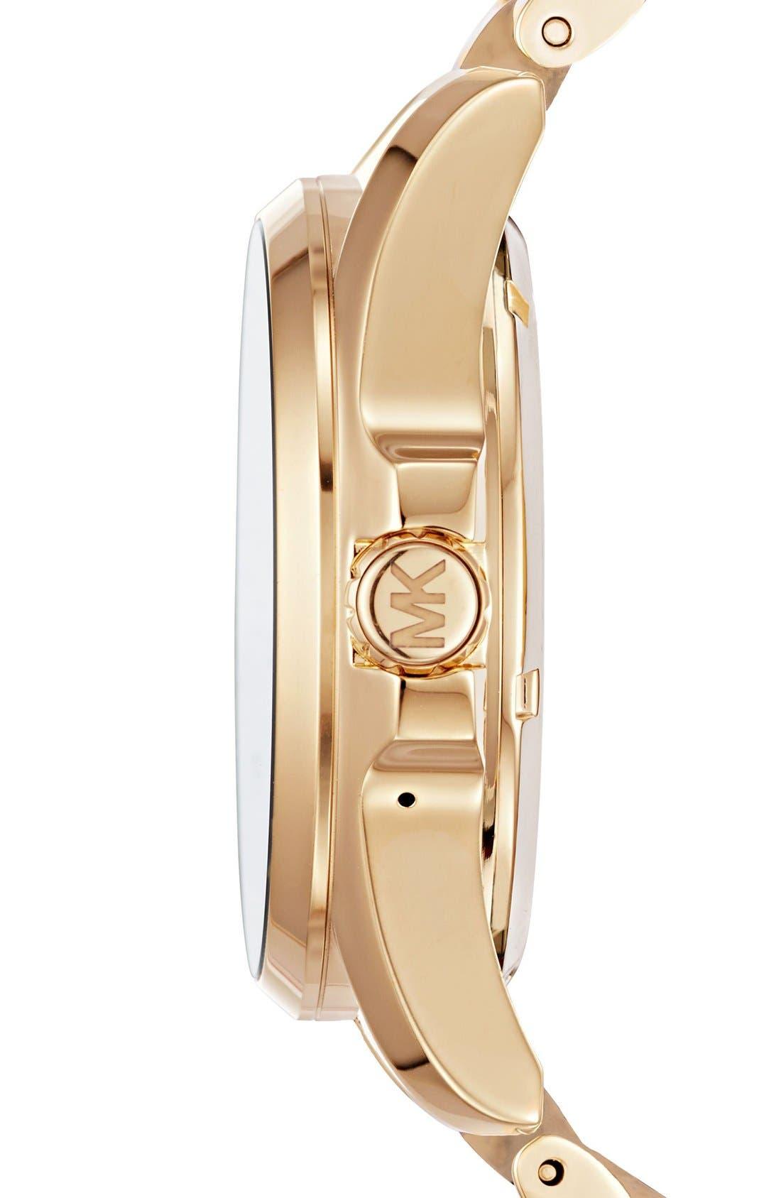 MICHAEL Michael Kors Bradshaw Access Bracelet Smart Watch, 45mm,                             Alternate thumbnail 51, color,