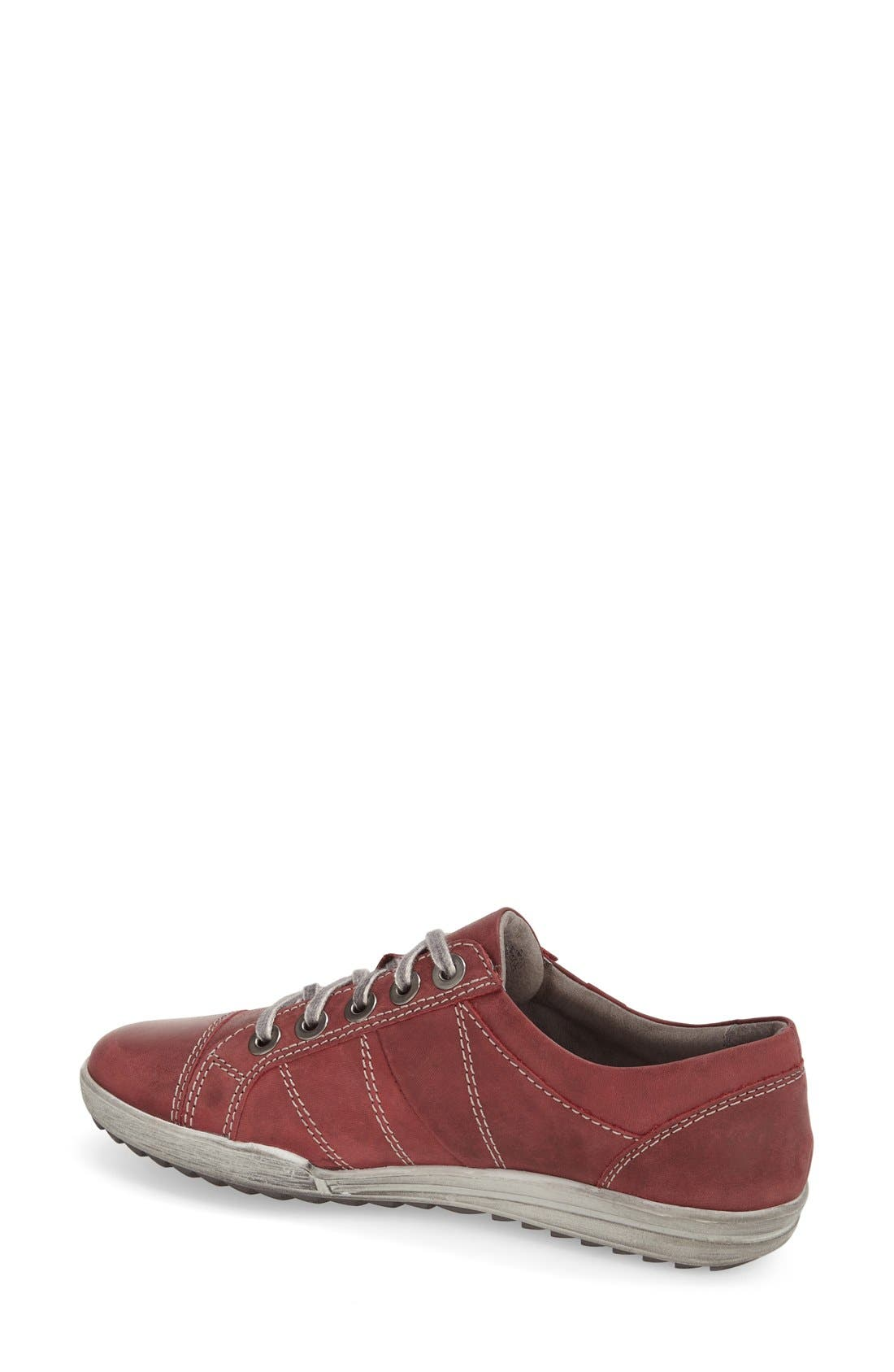 'Dany 05' Leather Sneaker,                             Alternate thumbnail 52, color,