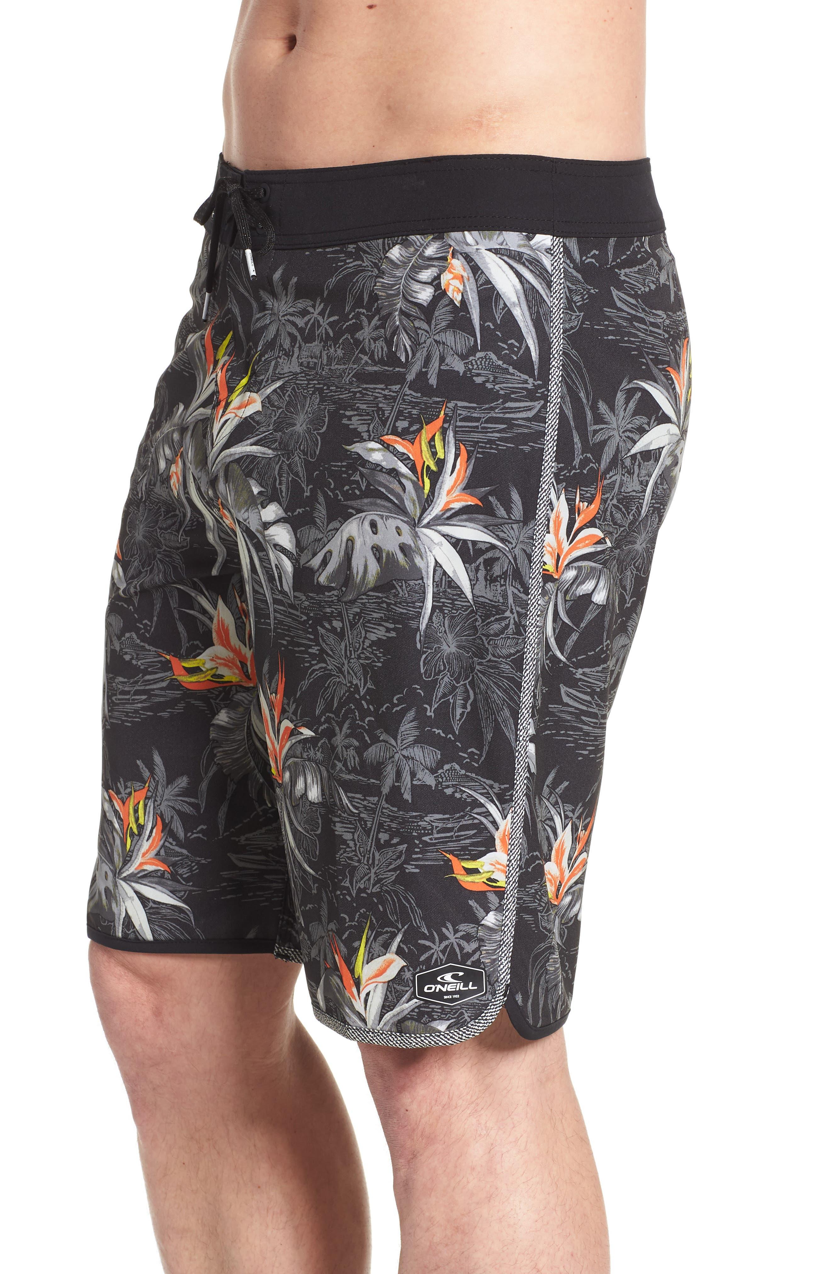 Hyperfreak Islander Board Shorts,                             Alternate thumbnail 4, color,                             001