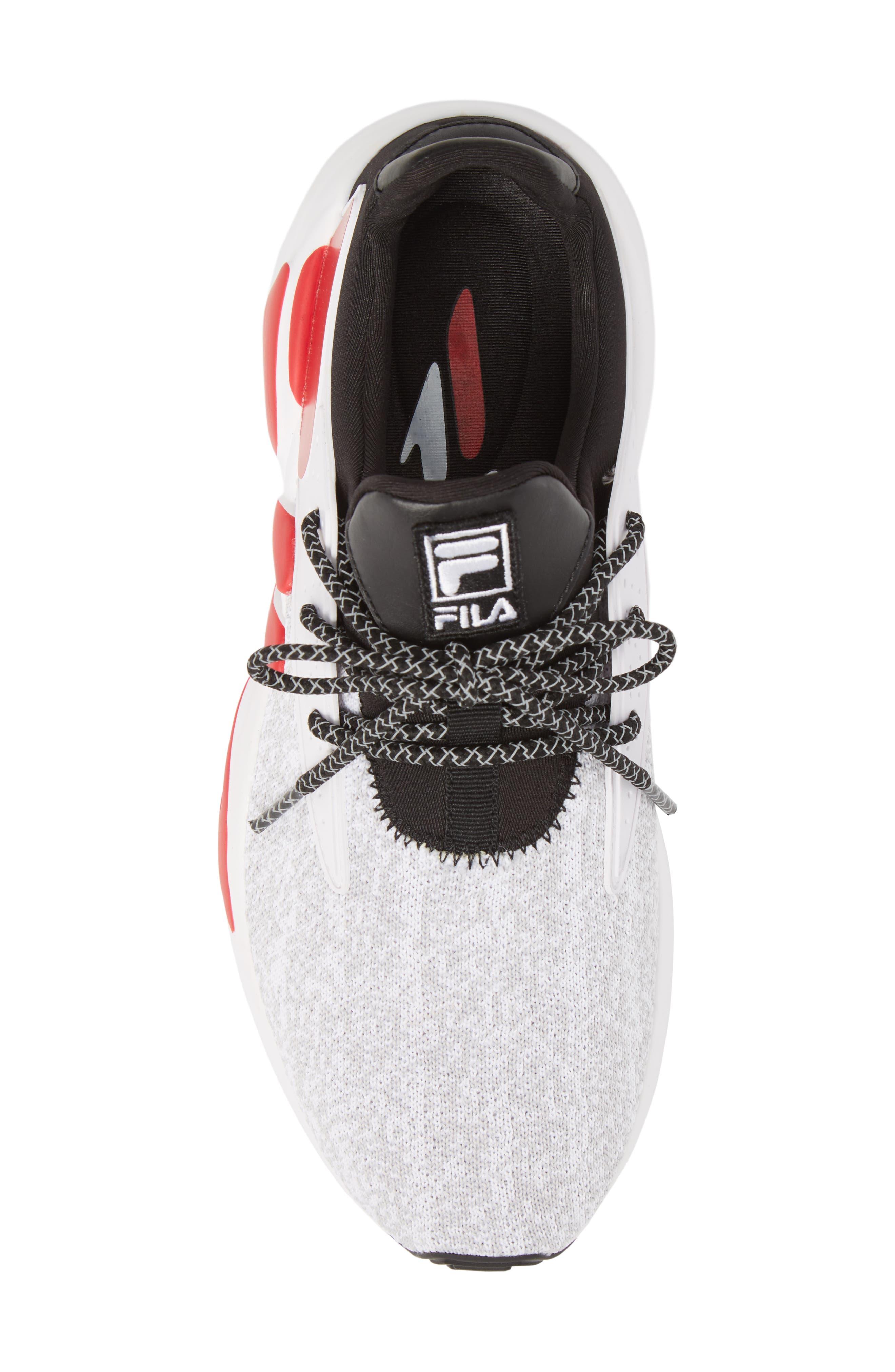 Mindbreaker 2.0 Sneaker,                             Alternate thumbnail 5, color,                             BLACK/ WHITE/ RED
