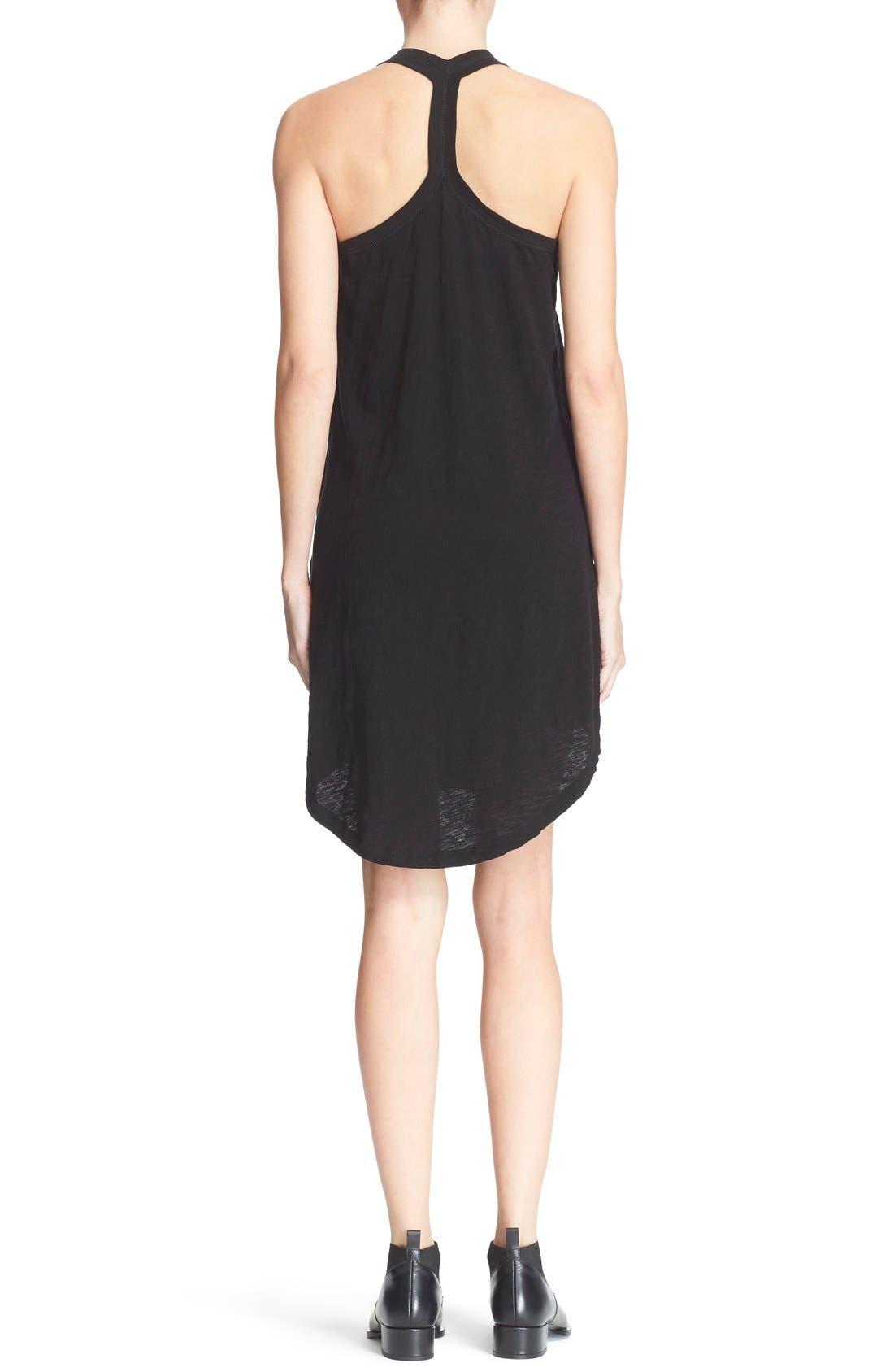 ATM ANTHONY THOMAS MELILLO,                             Cotton Trapeze Tank Dress,                             Alternate thumbnail 9, color,                             001