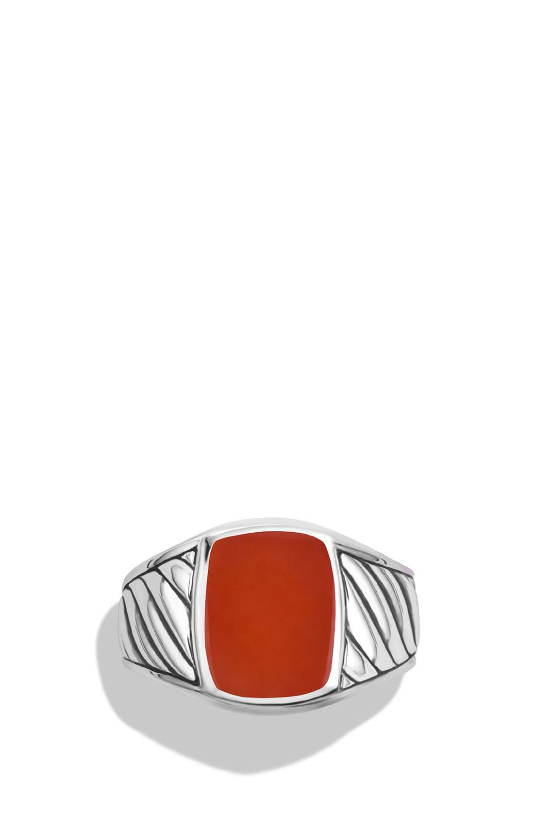 'Cable Classics' Signet Ring,                             Alternate thumbnail 3, color,                             600