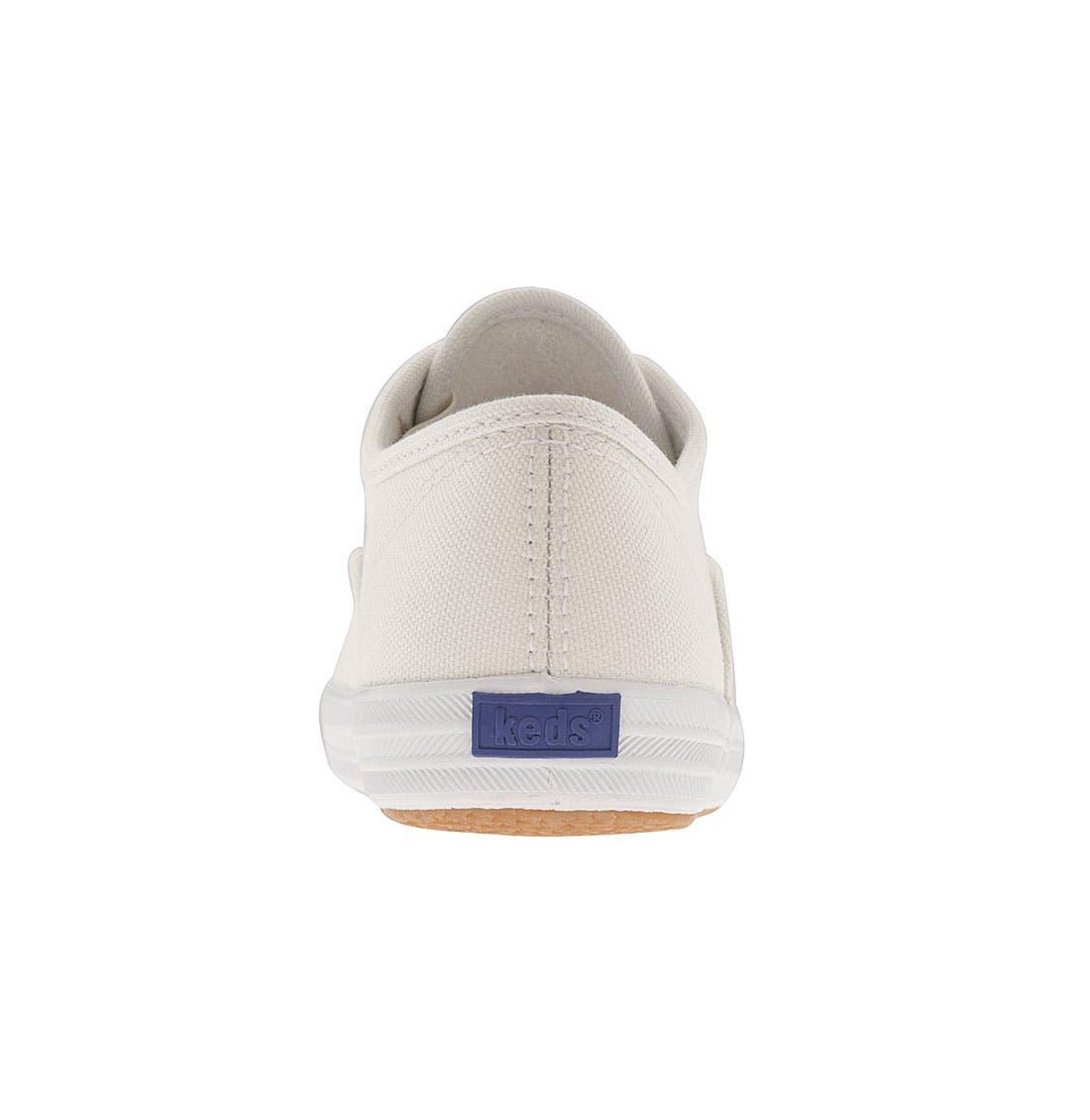 'Champion' Canvas Sneaker,                             Alternate thumbnail 3, color,                             NEW WHITE