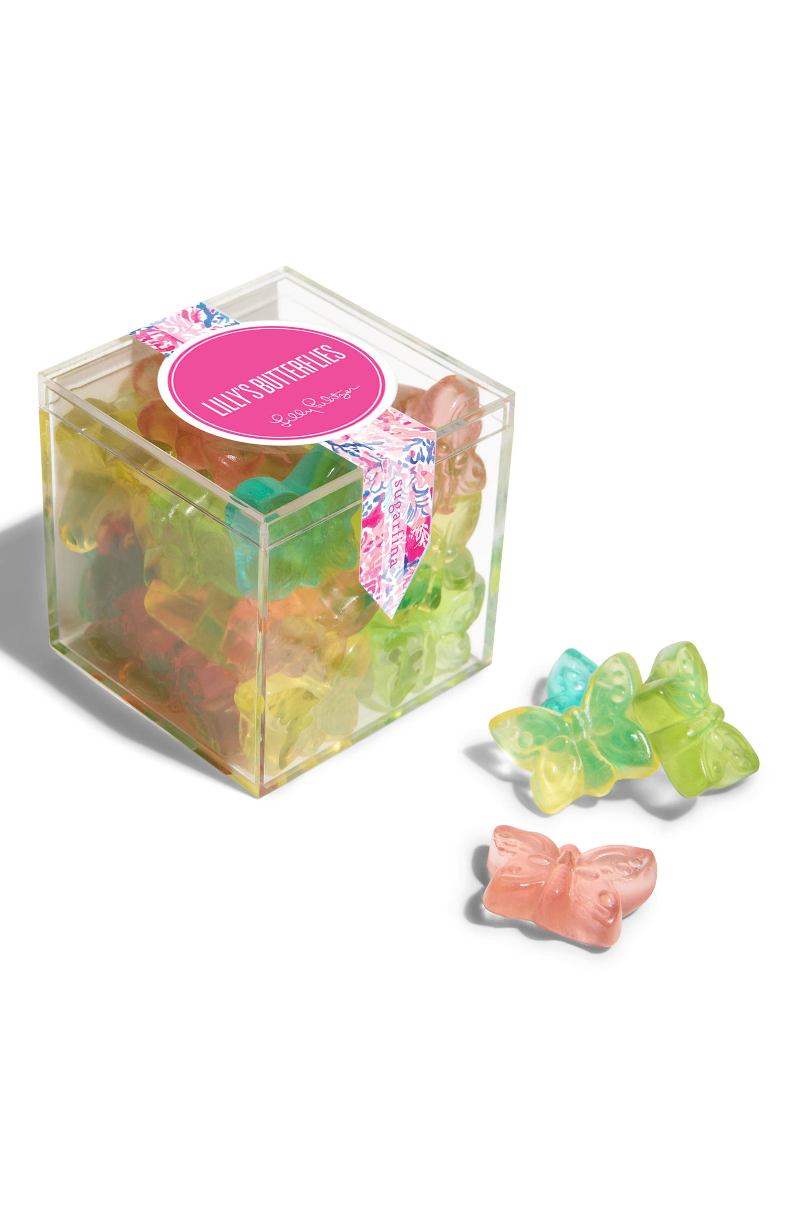 x Lilly Pulitzer<sup>®</sup> 3-Piece Candy Bento Box,                             Alternate thumbnail 3, color,                             650