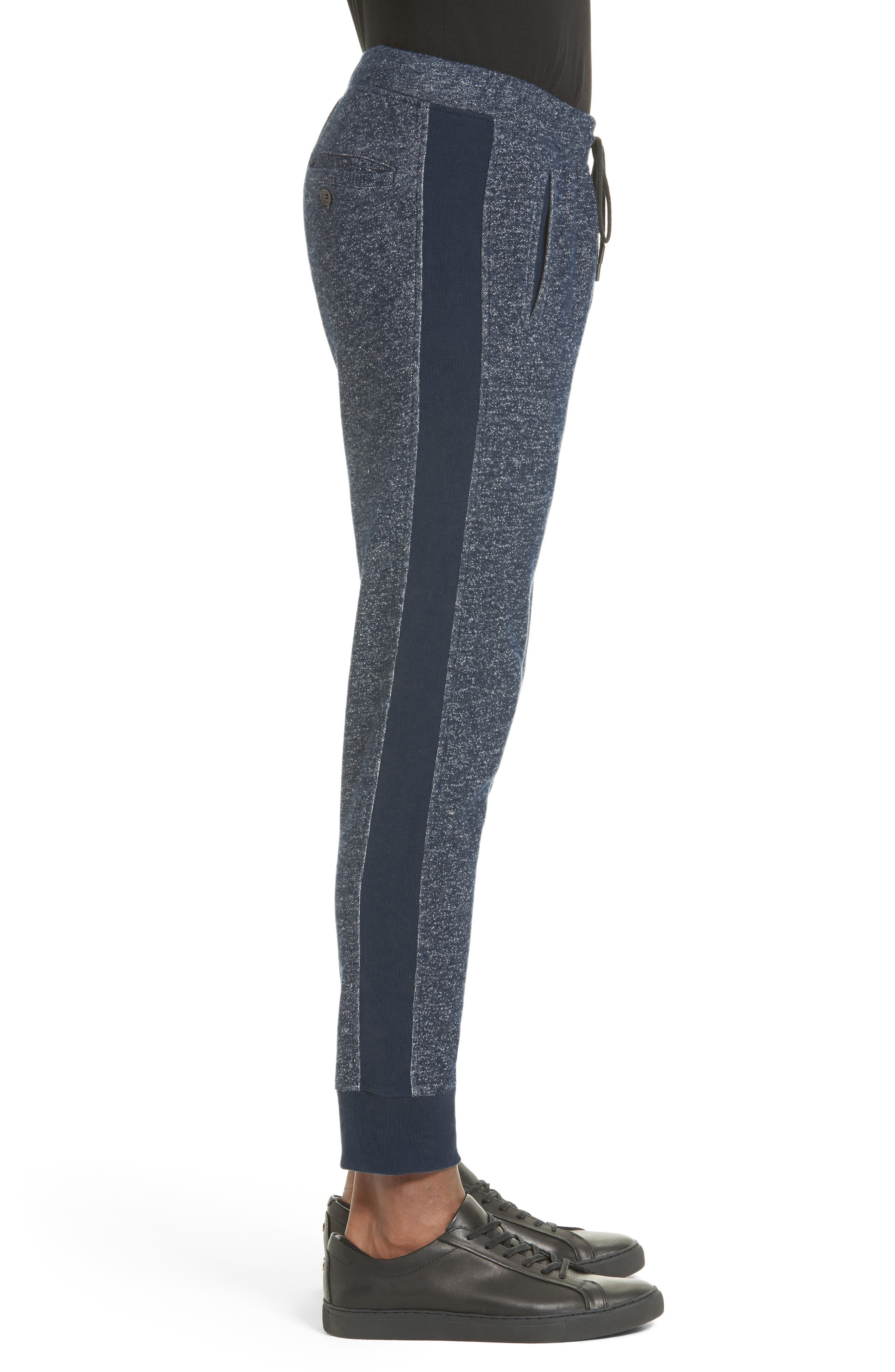 French Terry Jogger Pants,                             Alternate thumbnail 3, color,                             410