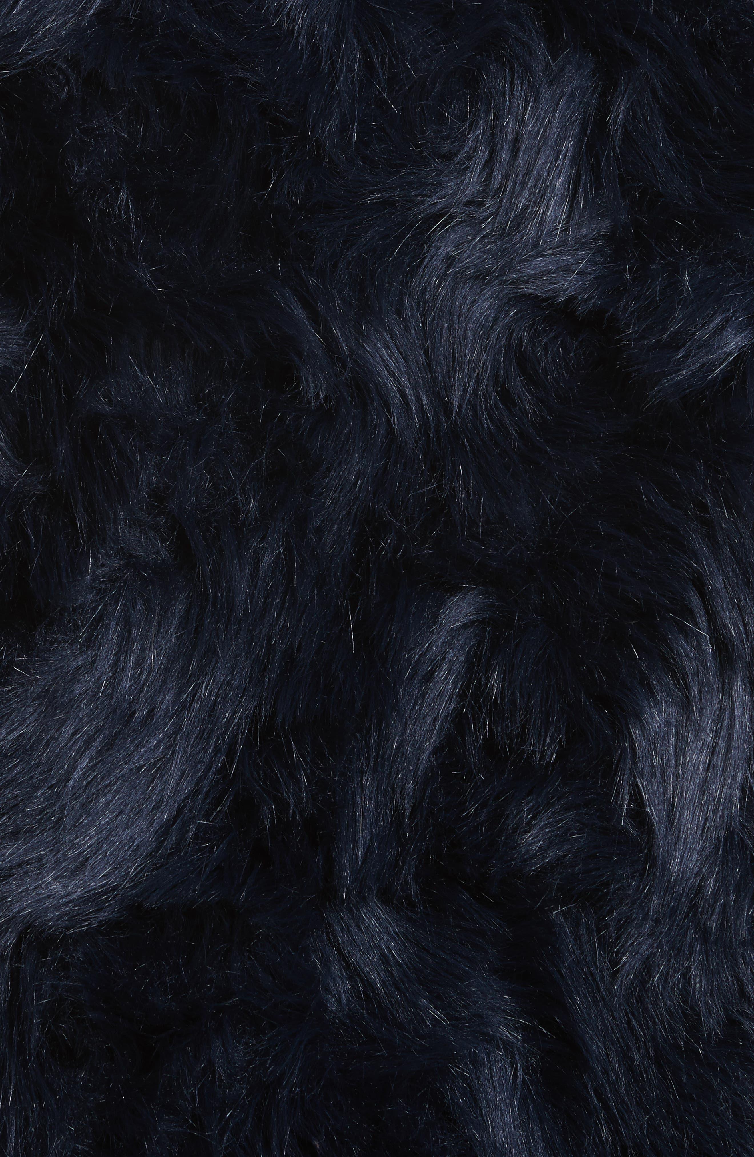 Sofia Faux Fur Jacket,                             Alternate thumbnail 6, color,                             400