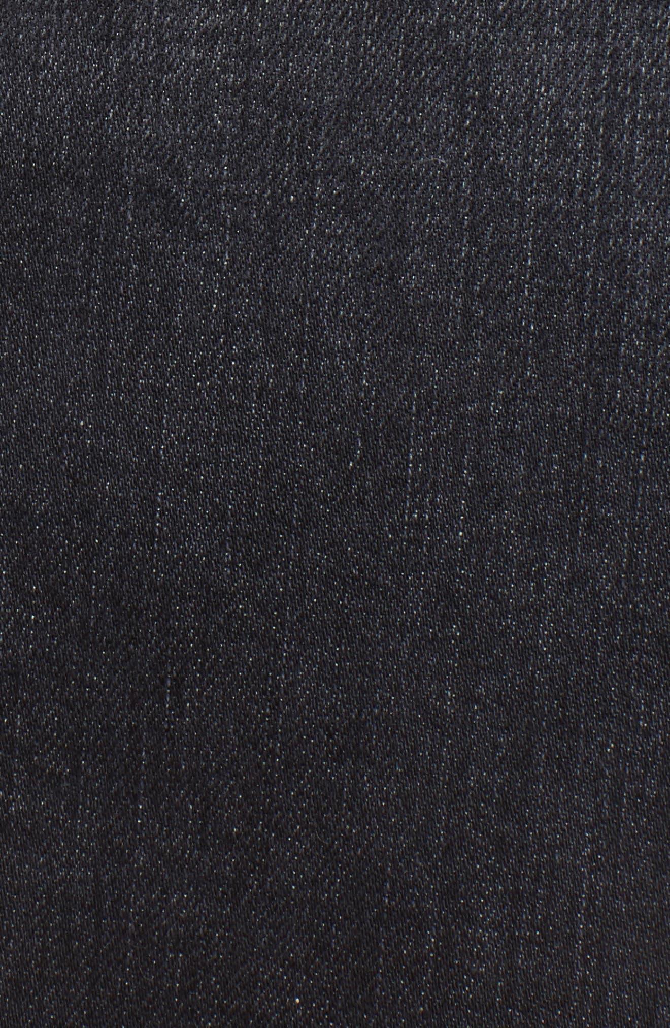 Denim Miniskirt,                             Alternate thumbnail 5, color,                             004