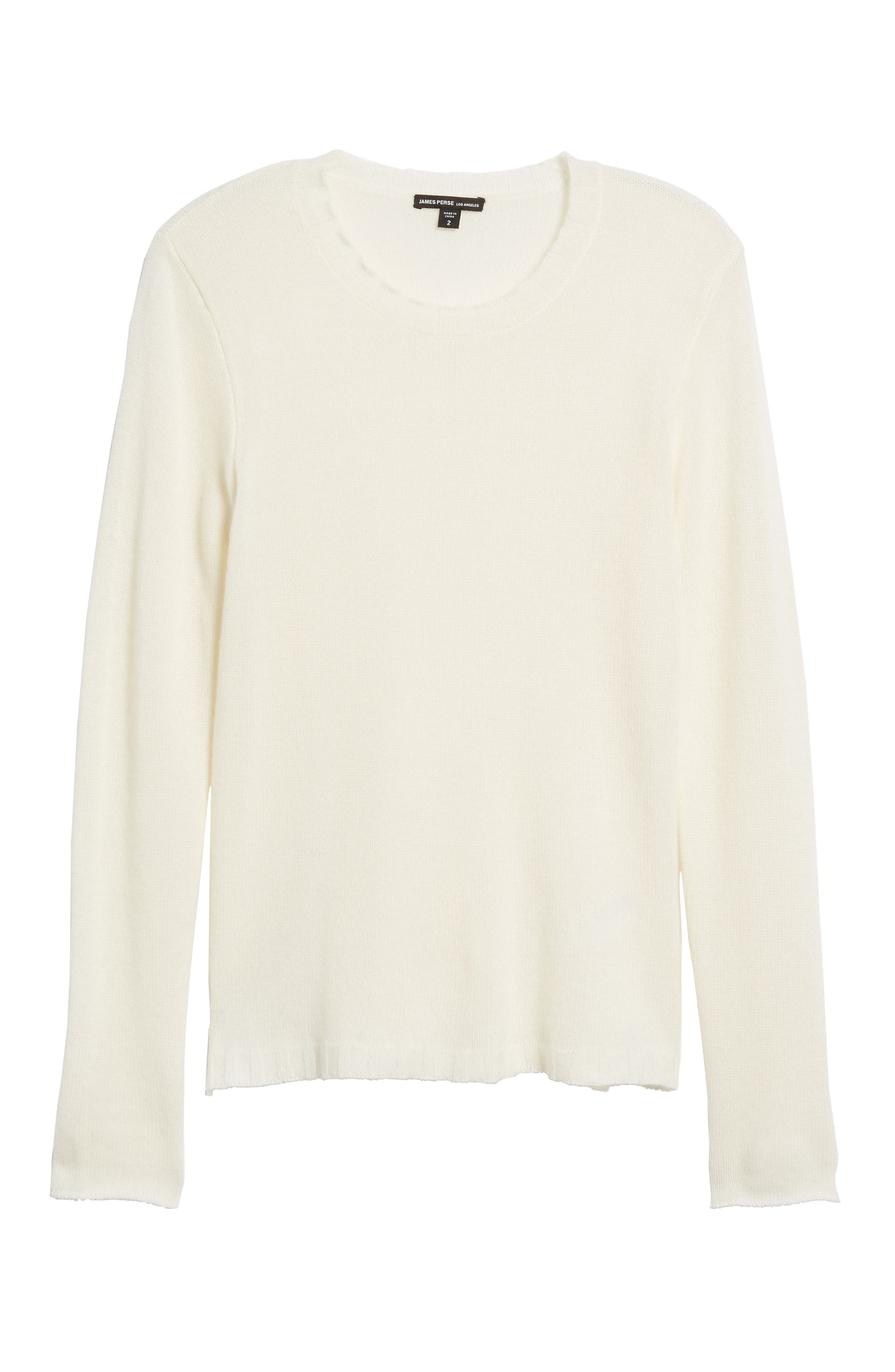 Cashmere Crewneck Sweater,                             Alternate thumbnail 6, color,                             902