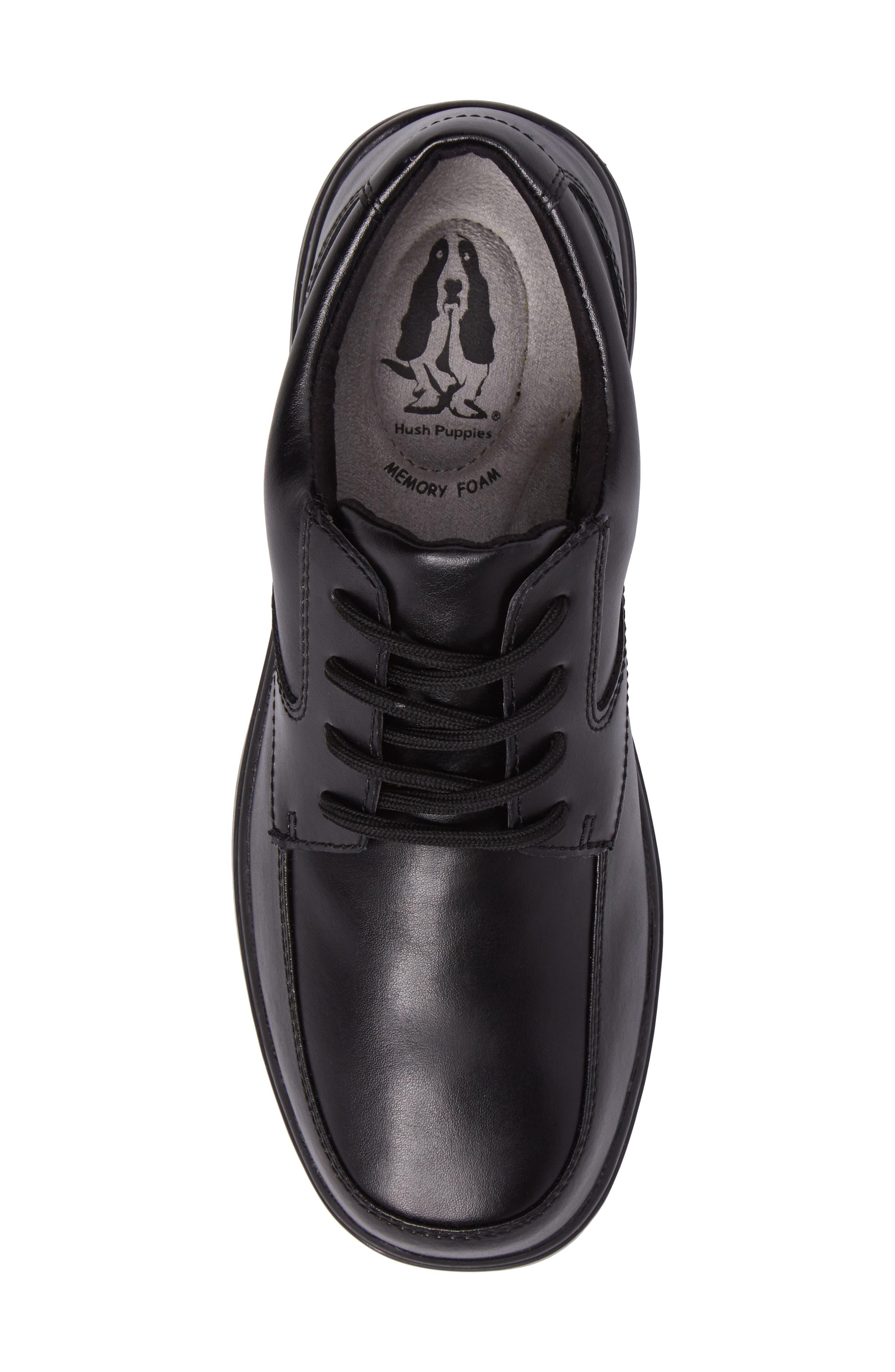 Ty Dress Shoe,                             Alternate thumbnail 5, color,                             BLACK LEATHER