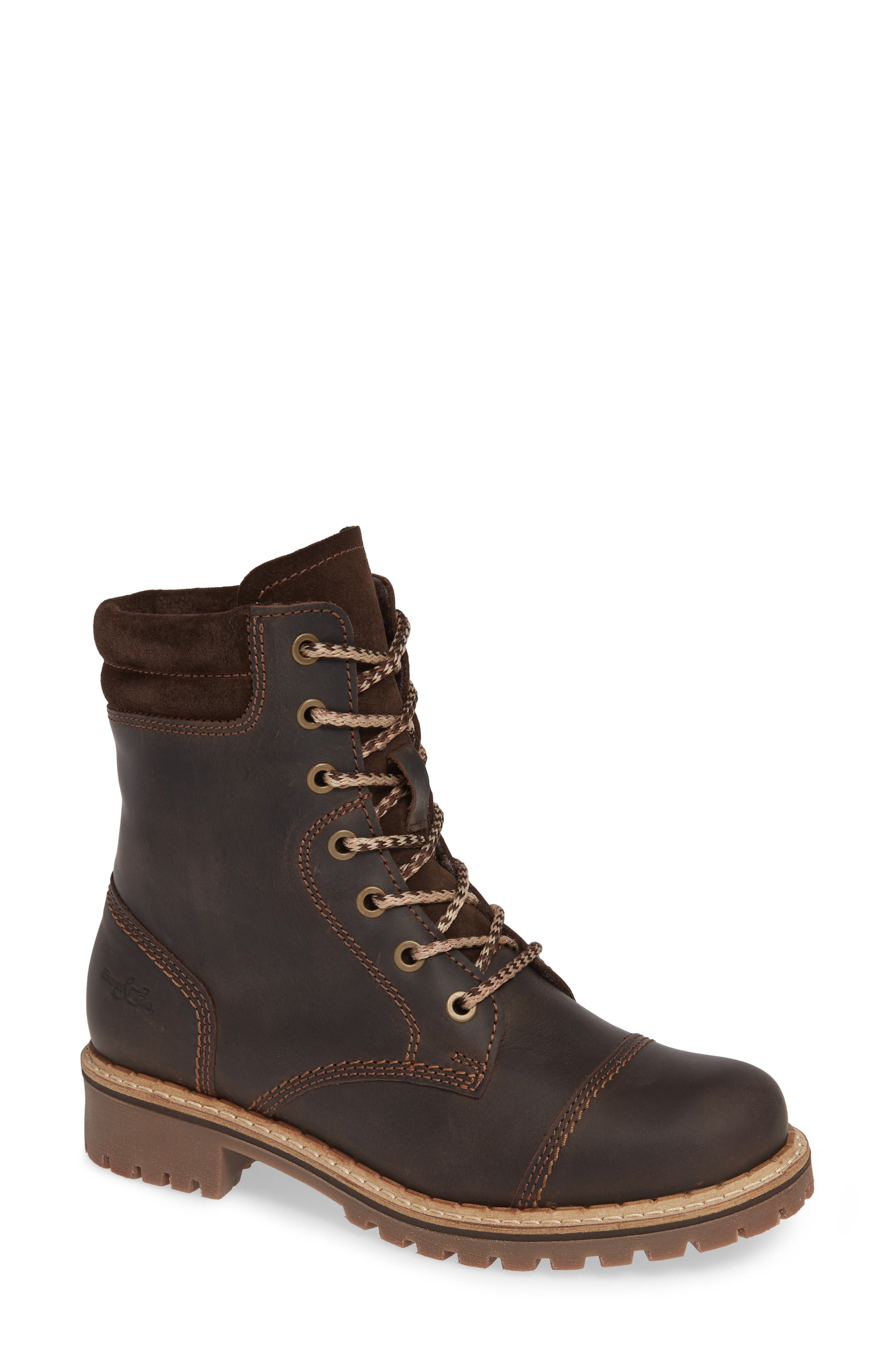 Bos. & Co. Hero Waterproof Hiker Boot, Brown