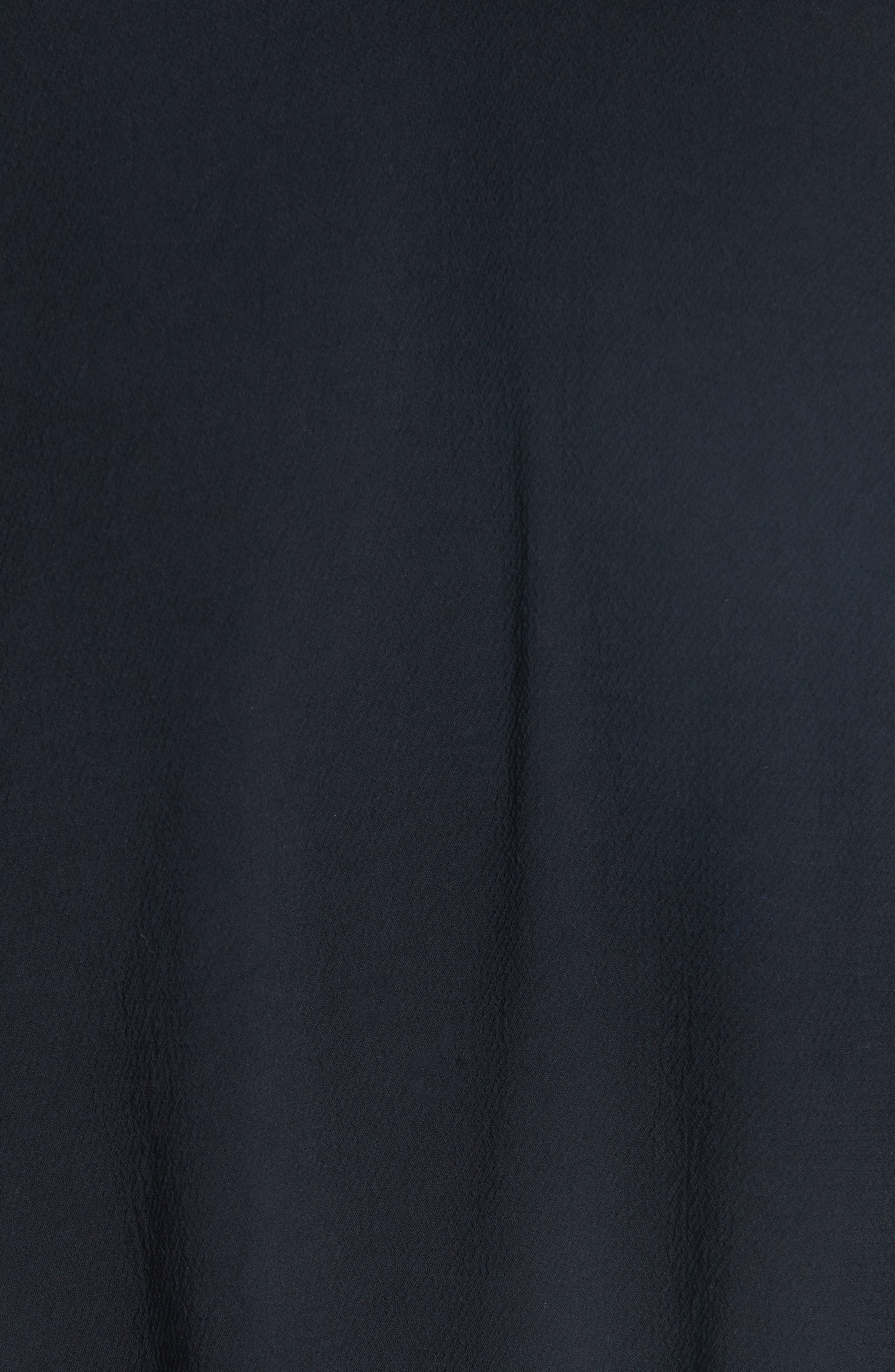 Cycy Bow Back Jumpsuit,                             Alternate thumbnail 5, color,                             NOIR
