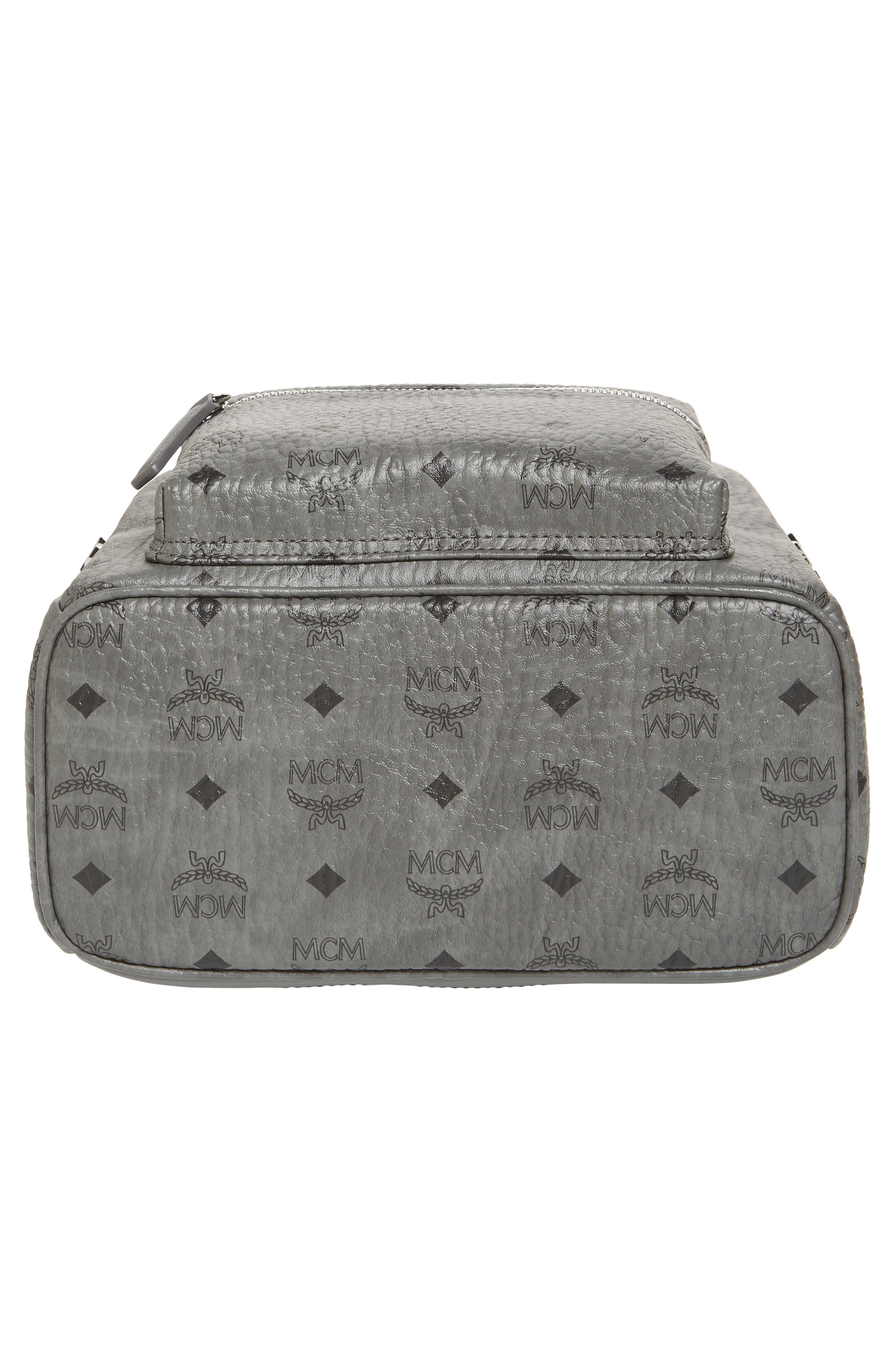 Small Stark Side Stud Backpack,                             Alternate thumbnail 6, color,                             PHANTOM GREY