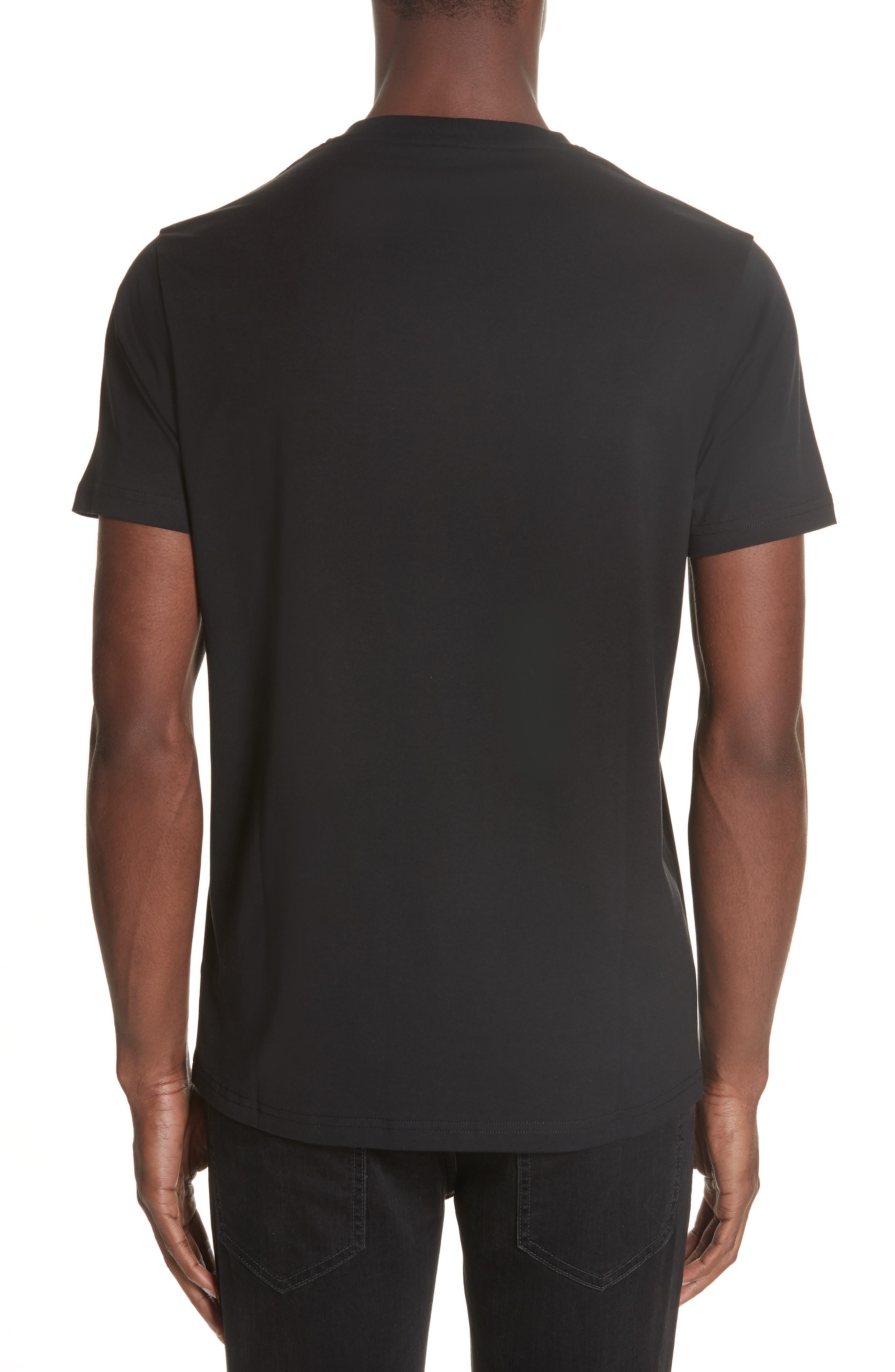 Box Logo T-Shirt,                             Alternate thumbnail 2, color,                             B1008 BLACK
