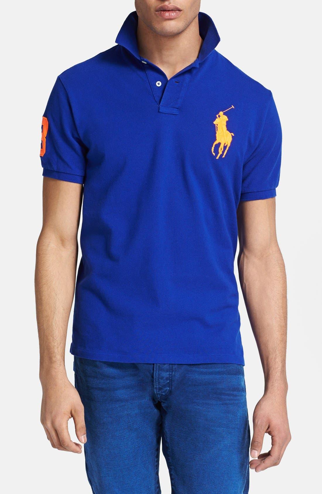 7f28d164 ... promo code for ralph lauren big pony 3 polo shirt 5076c c8819