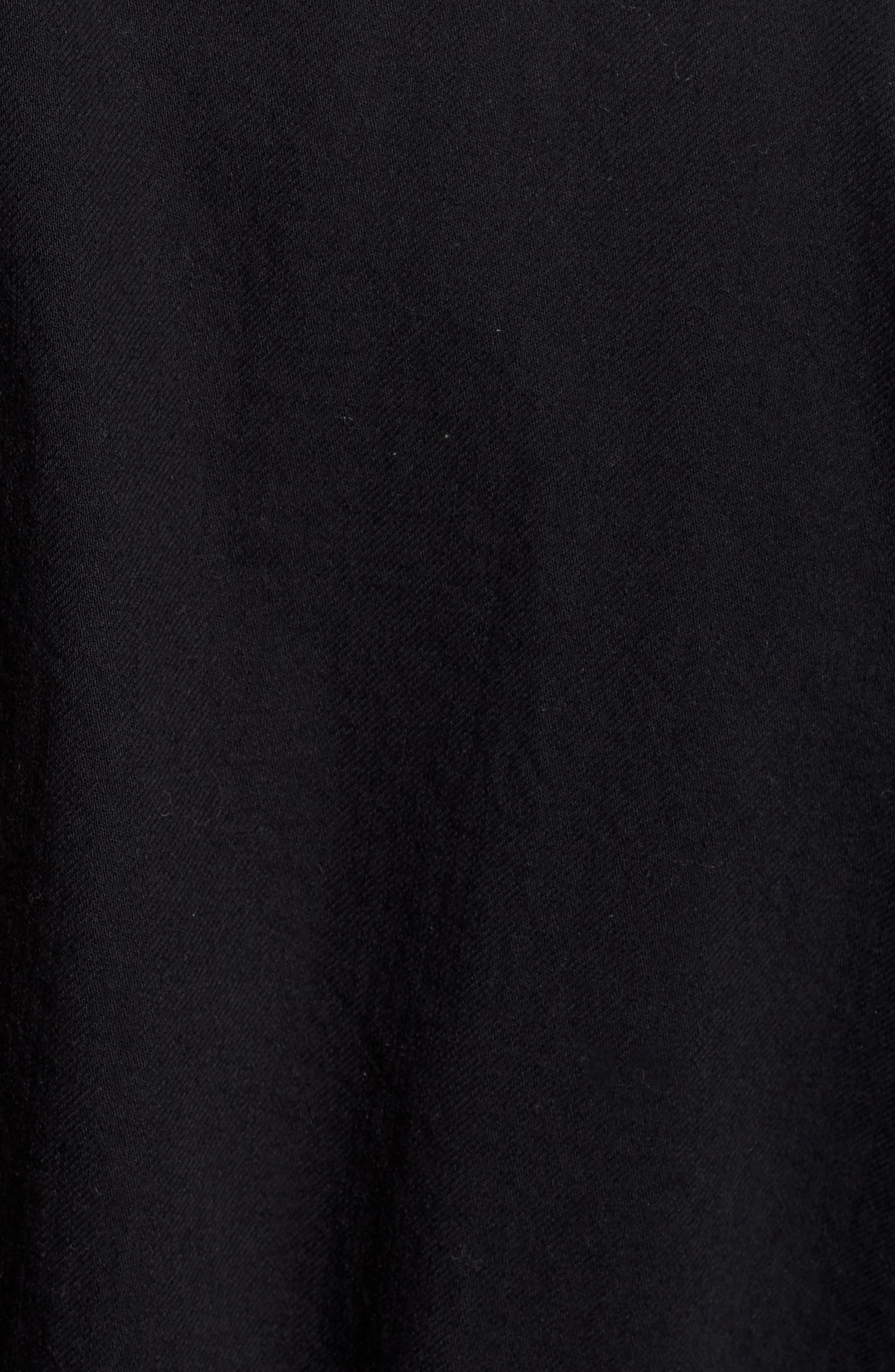 Shirttail Hem Organic Cotton Jacket,                             Alternate thumbnail 12, color,