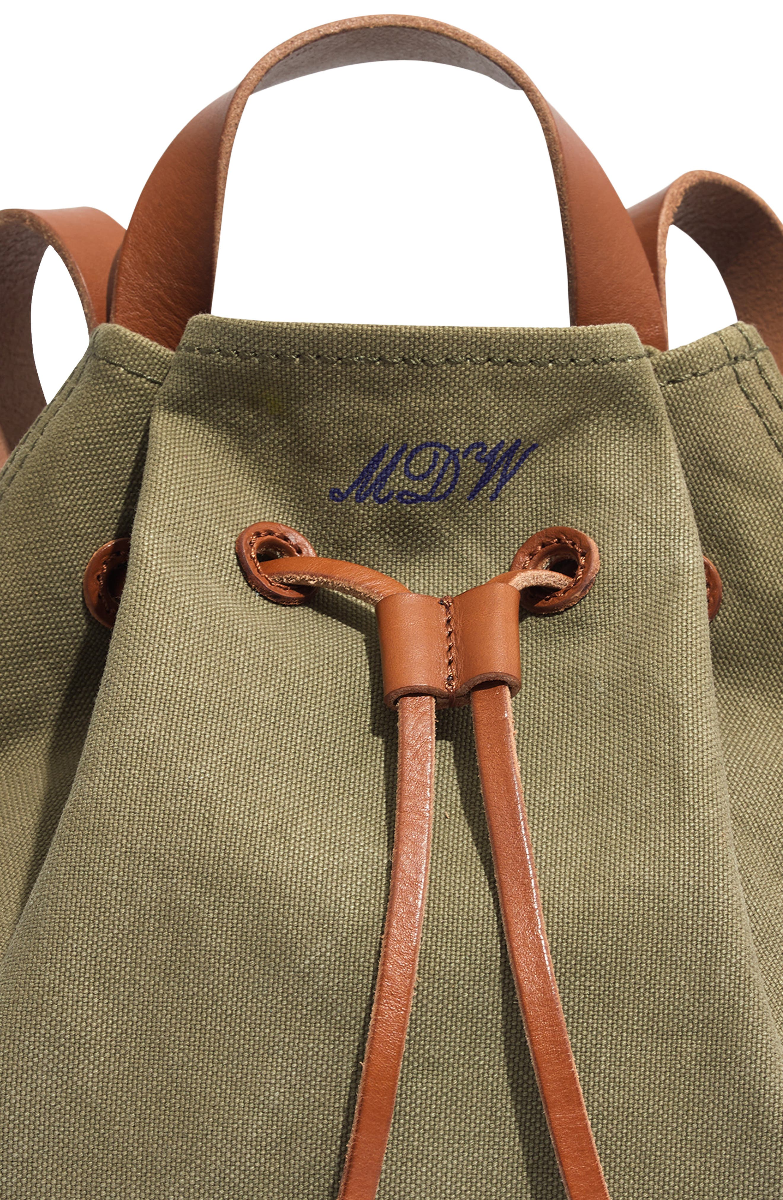 Somerset Canvas Backpack,                             Alternate thumbnail 23, color,