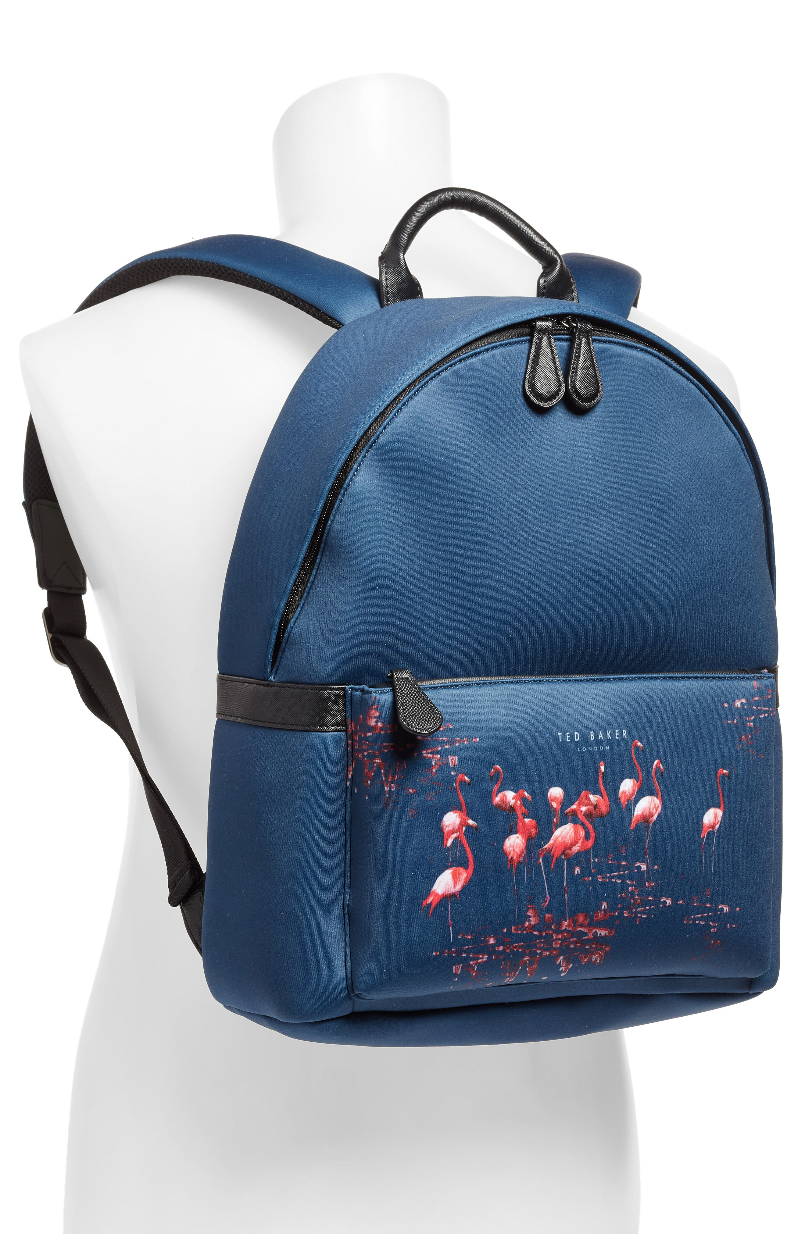 TED BAKER LONDON,                             Print Backpack,                             Alternate thumbnail 2, color,                             410
