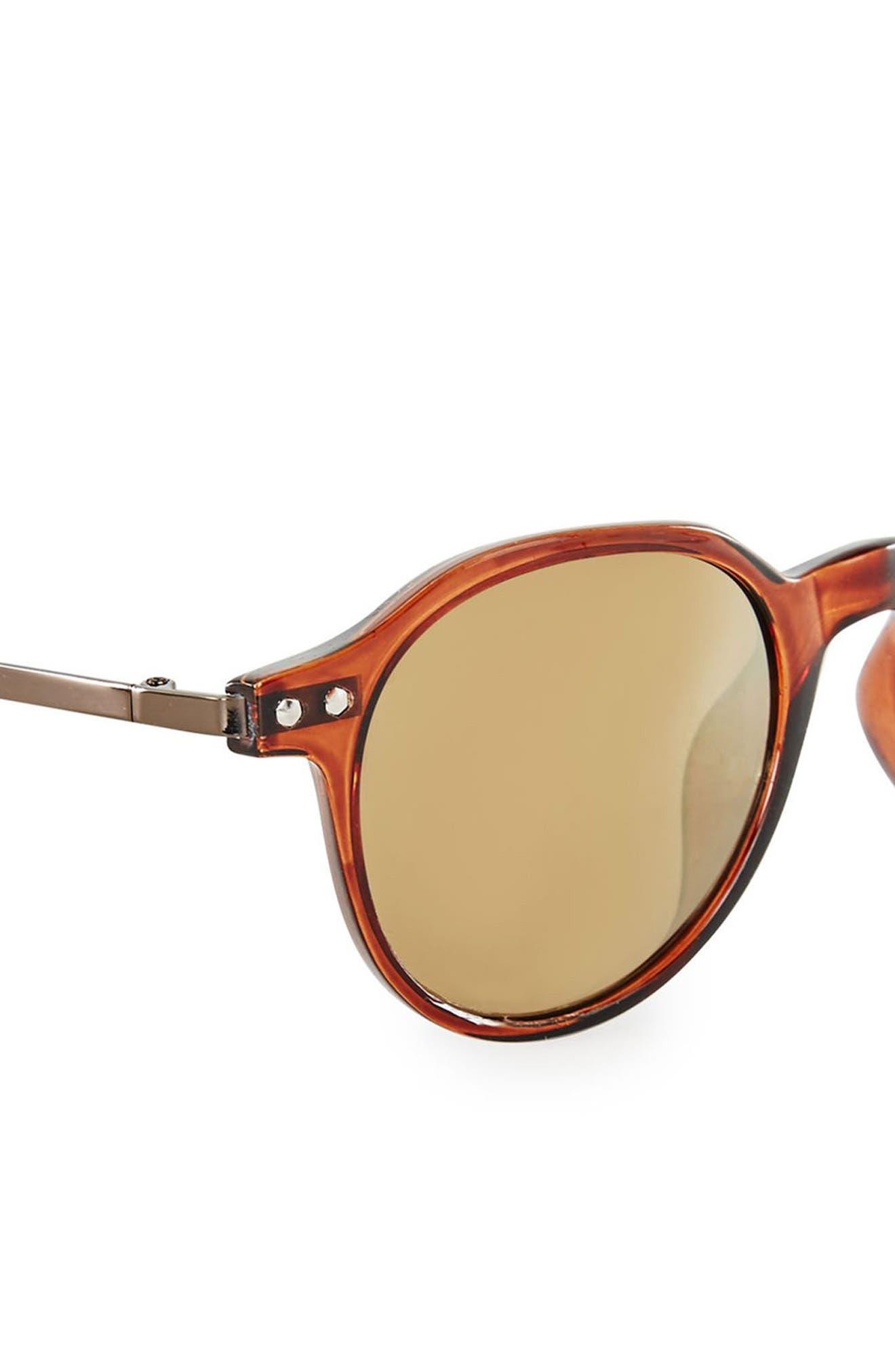45mm Round Sunglasses,                             Alternate thumbnail 2, color,                             200