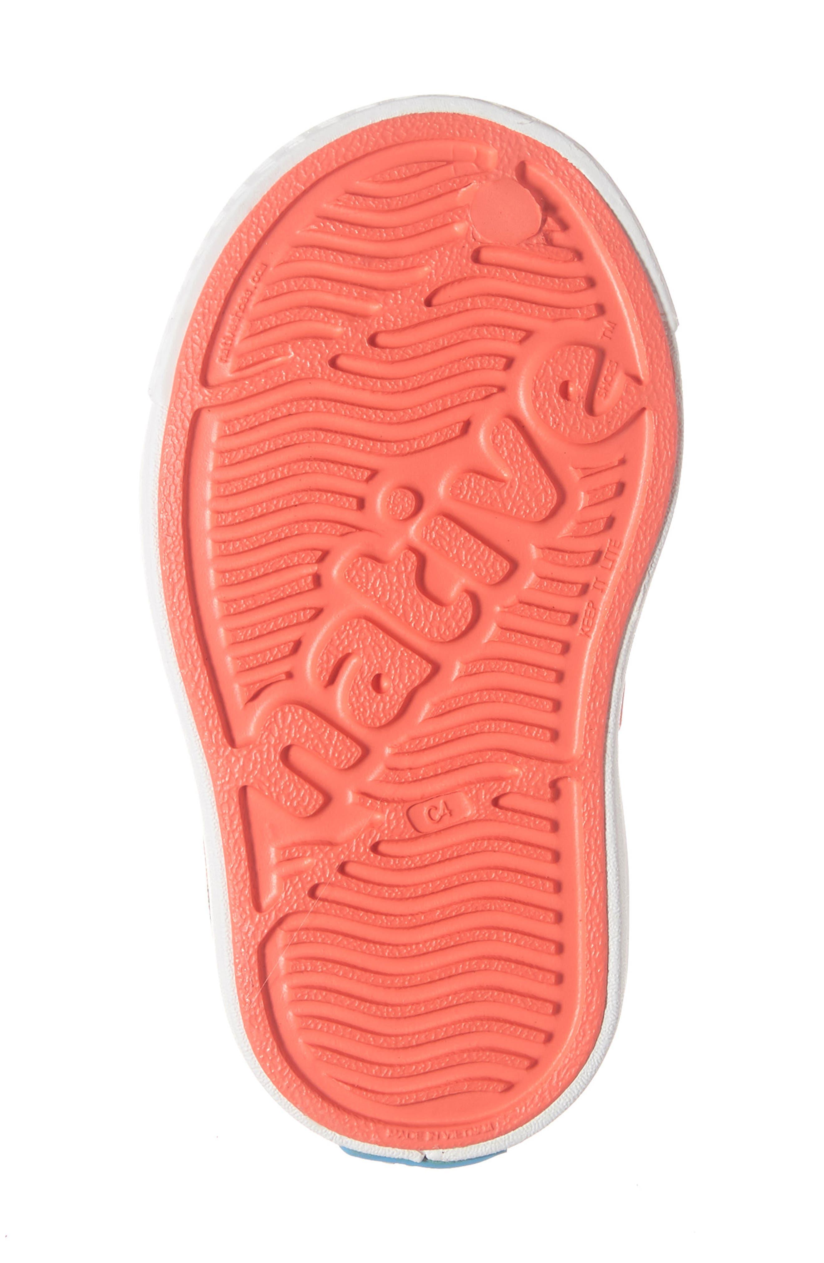 Jefferson Pineapple Print Water Friendly Sneaker,                             Alternate thumbnail 6, color,                             POPSTAR PINK/ WHITE PINEAPPLES