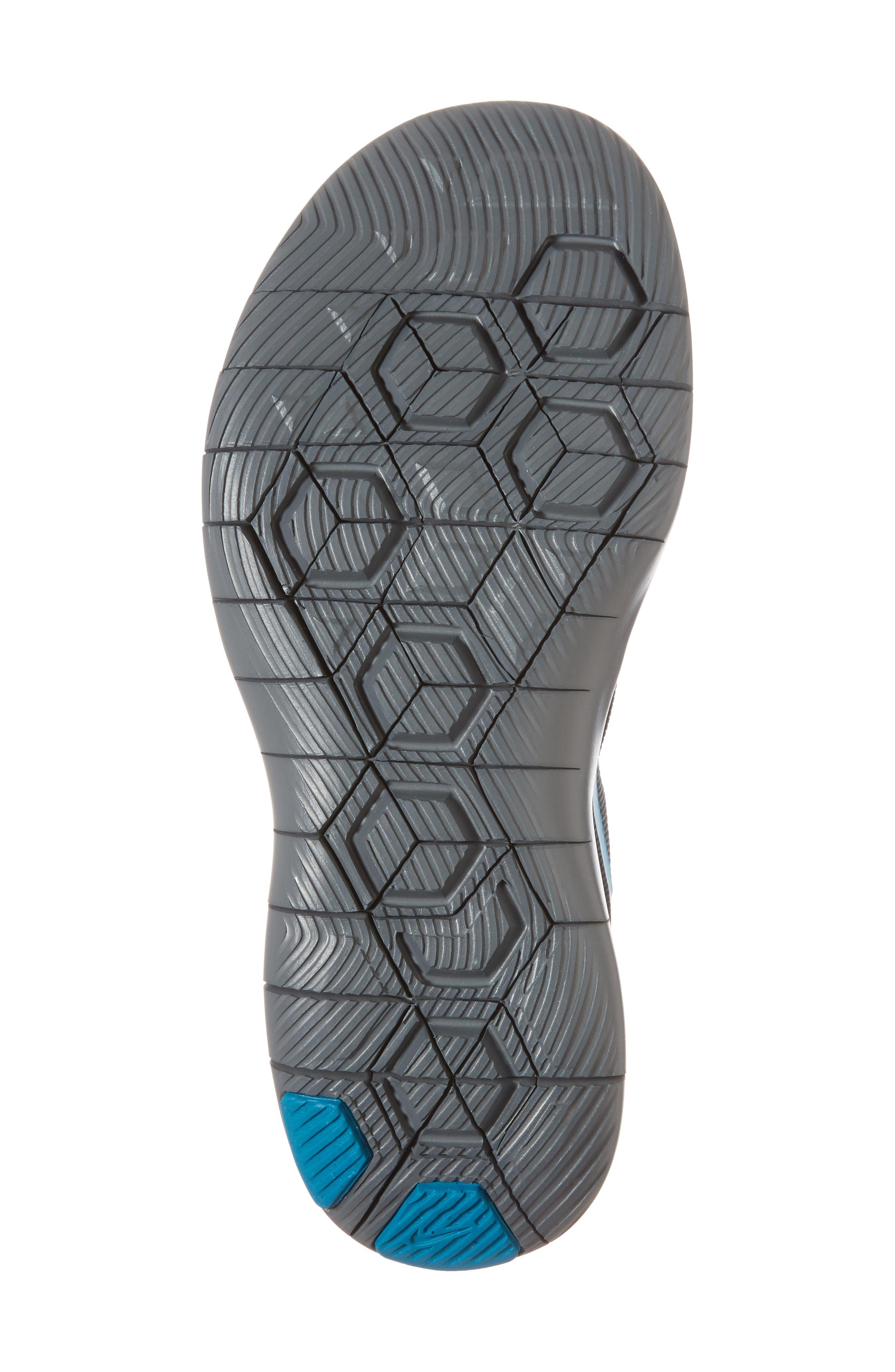 Flex Contact Running Shoe,                             Alternate thumbnail 6, color,                             007