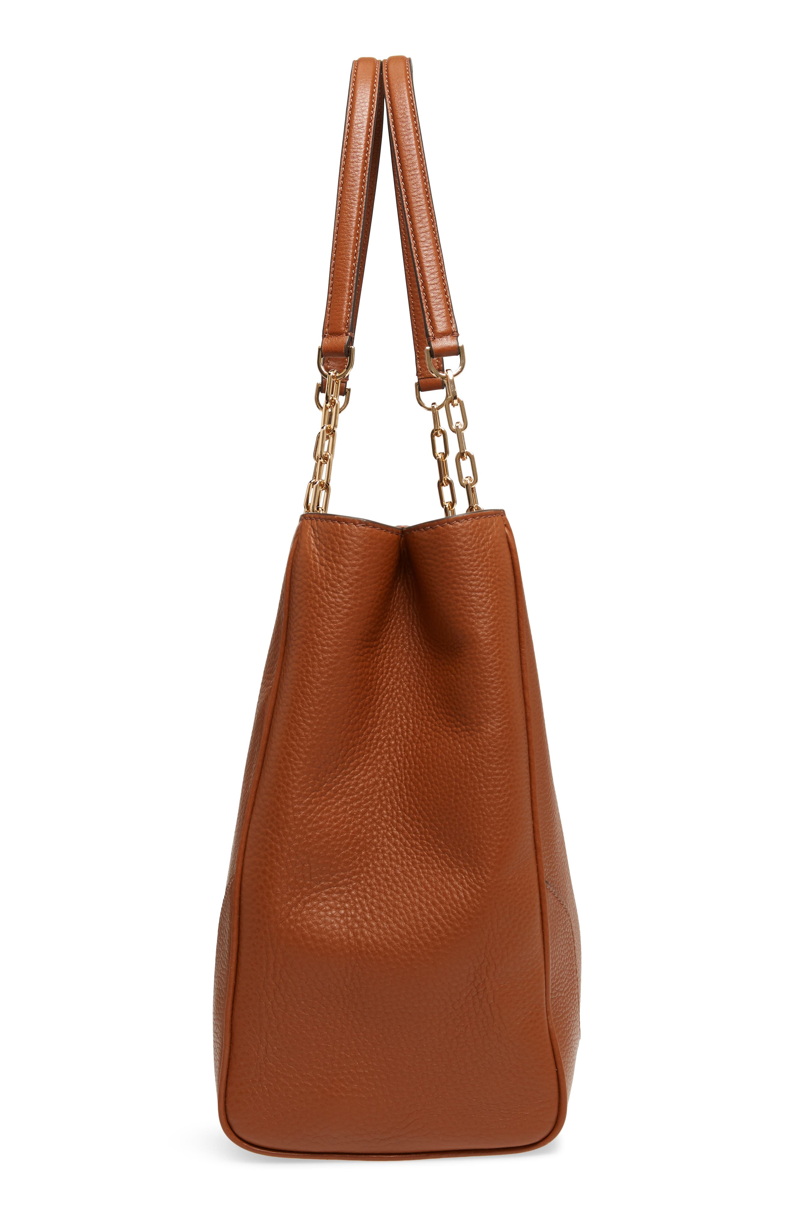 Marsden Pebbled Leather Tote,                             Alternate thumbnail 14, color,