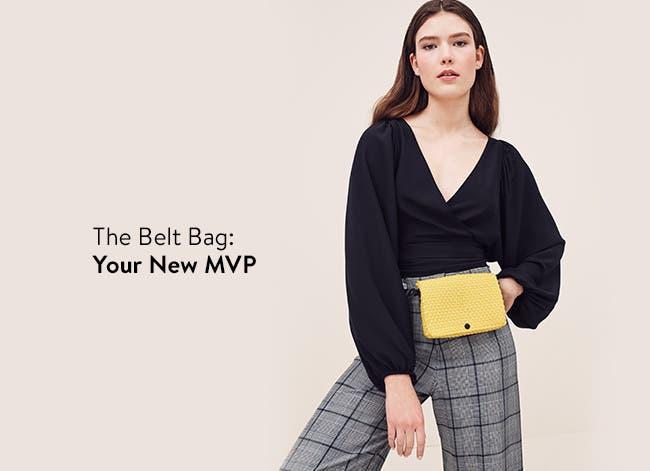 Women's trending belt bags.