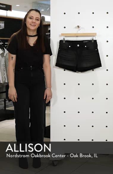 The Fulton Cuff Hem Denim Shorts, sales video thumbnail