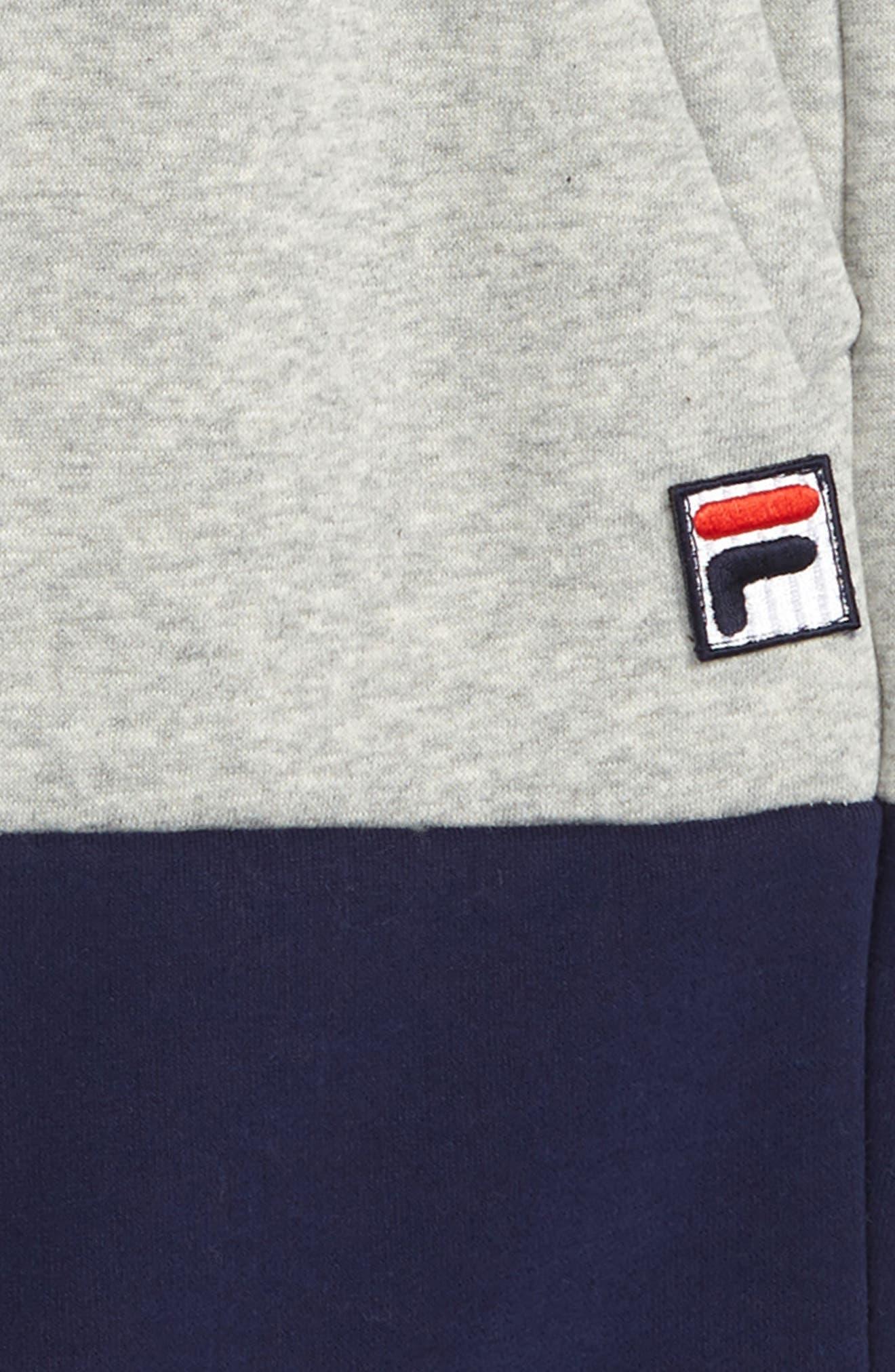 Colorblock Sweat Shorts,                             Alternate thumbnail 2, color,                             050