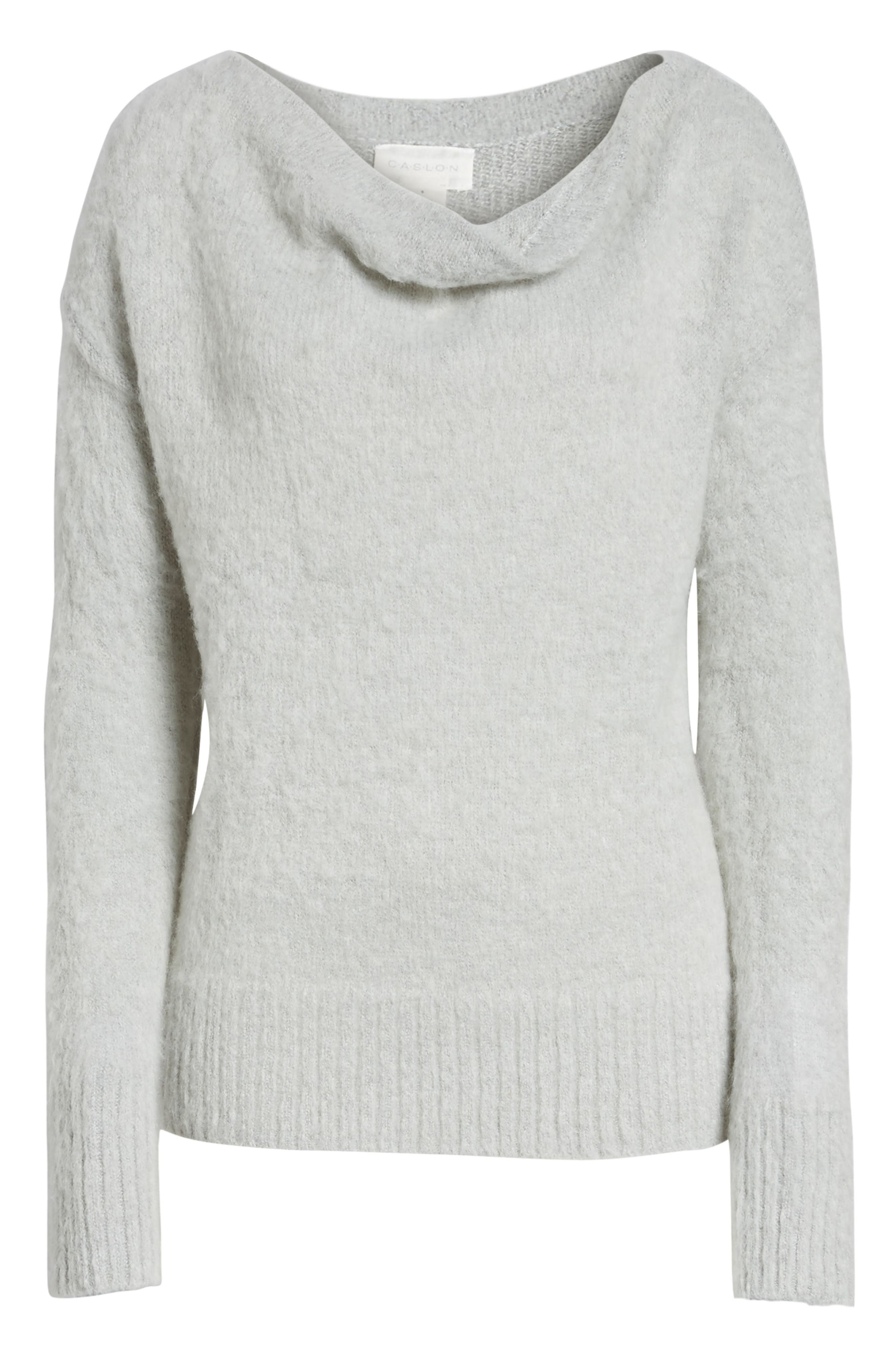 Long Sleeve Brushed Sweater,                             Alternate thumbnail 32, color,