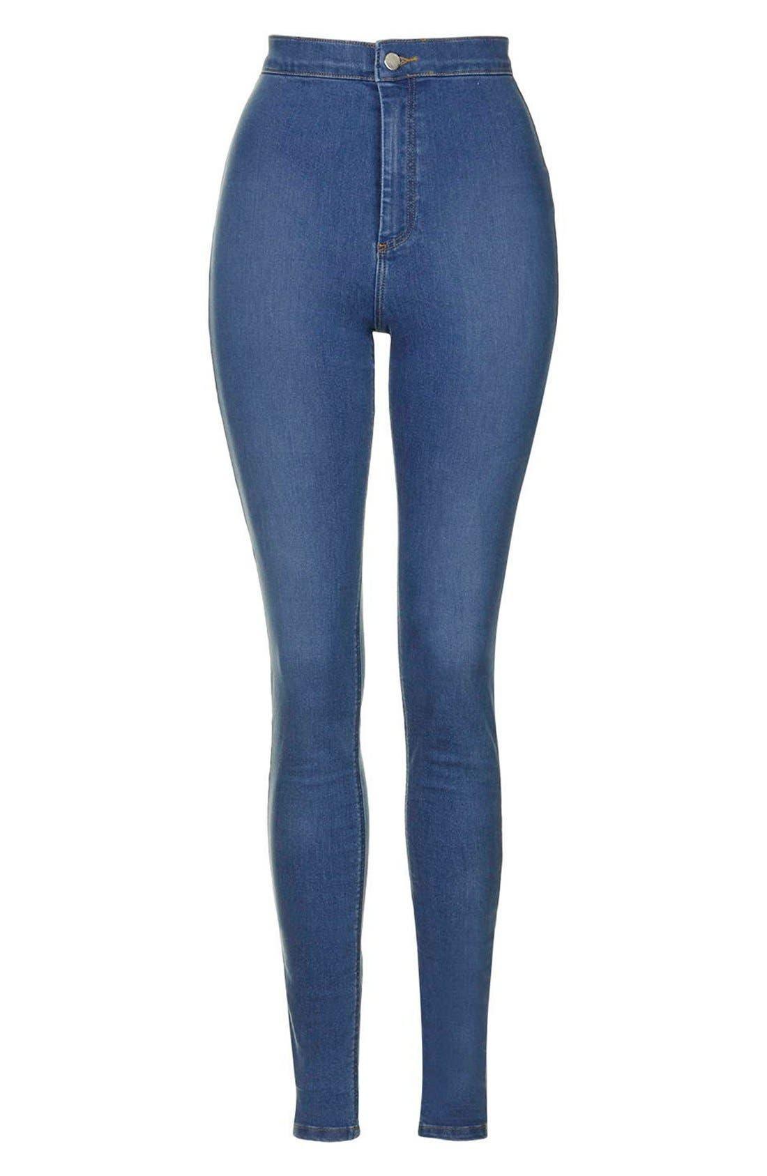 'Joni' High Waist Skinny Jeans,                             Alternate thumbnail 2, color,                             400