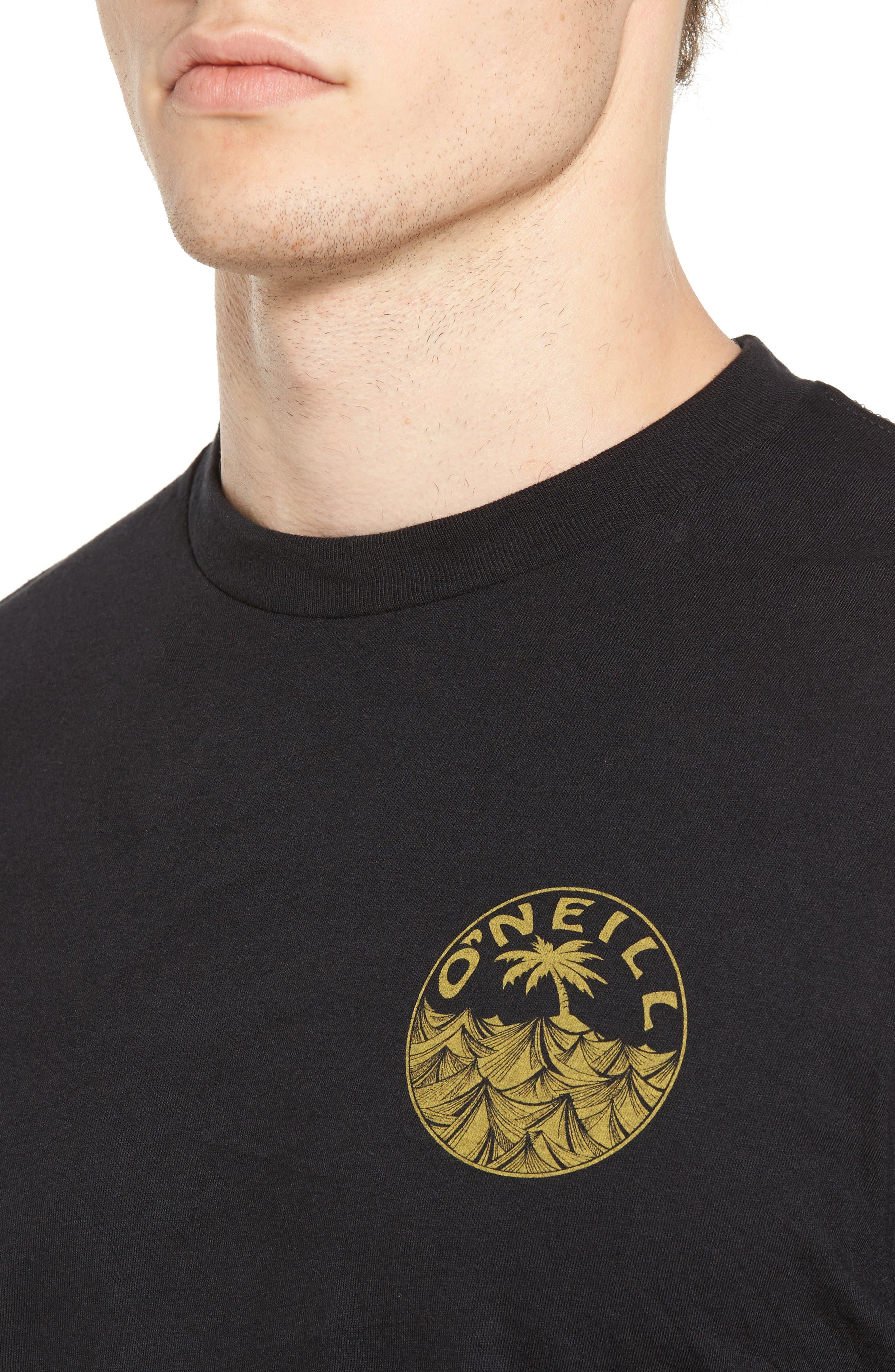 Waver Graphic T-Shirt,                             Alternate thumbnail 4, color,                             001