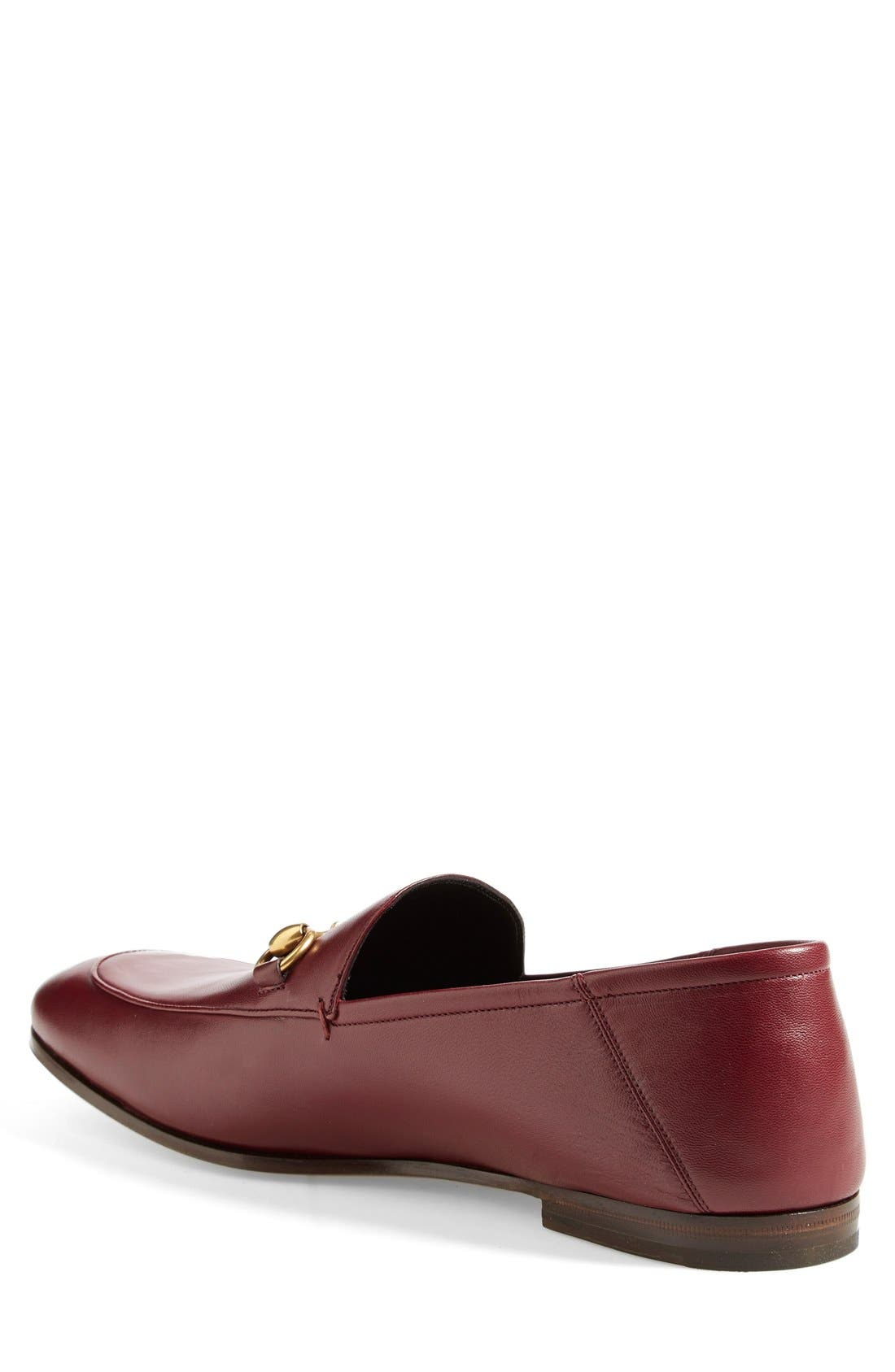 Brixton Leather Loafer,                             Alternate thumbnail 10, color,