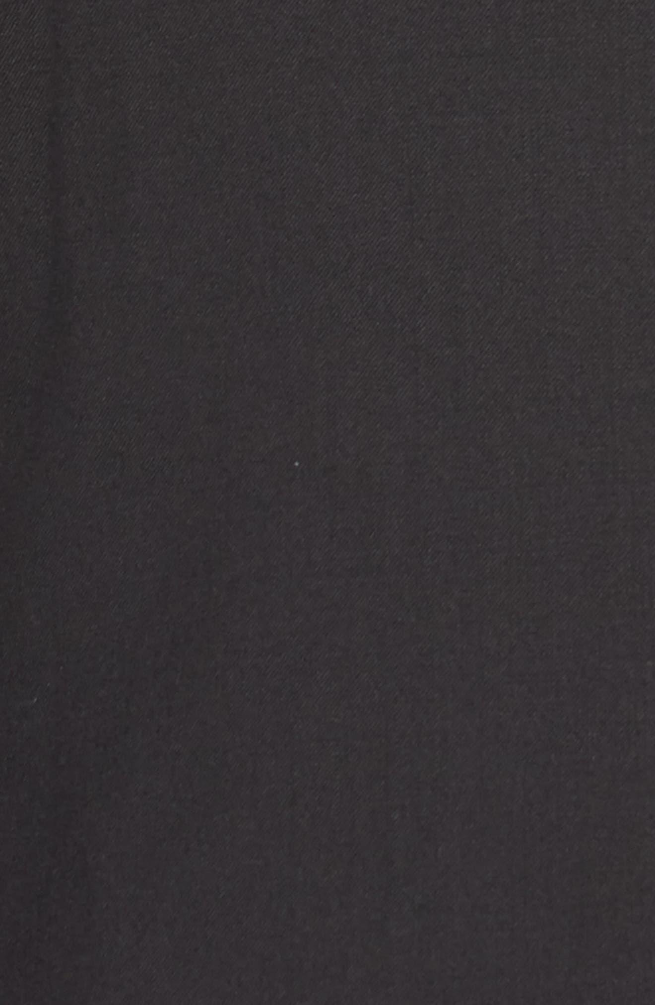 Halven/Gentry Trim Fit Wool Tuxedo,                             Alternate thumbnail 7, color,                             BLACK