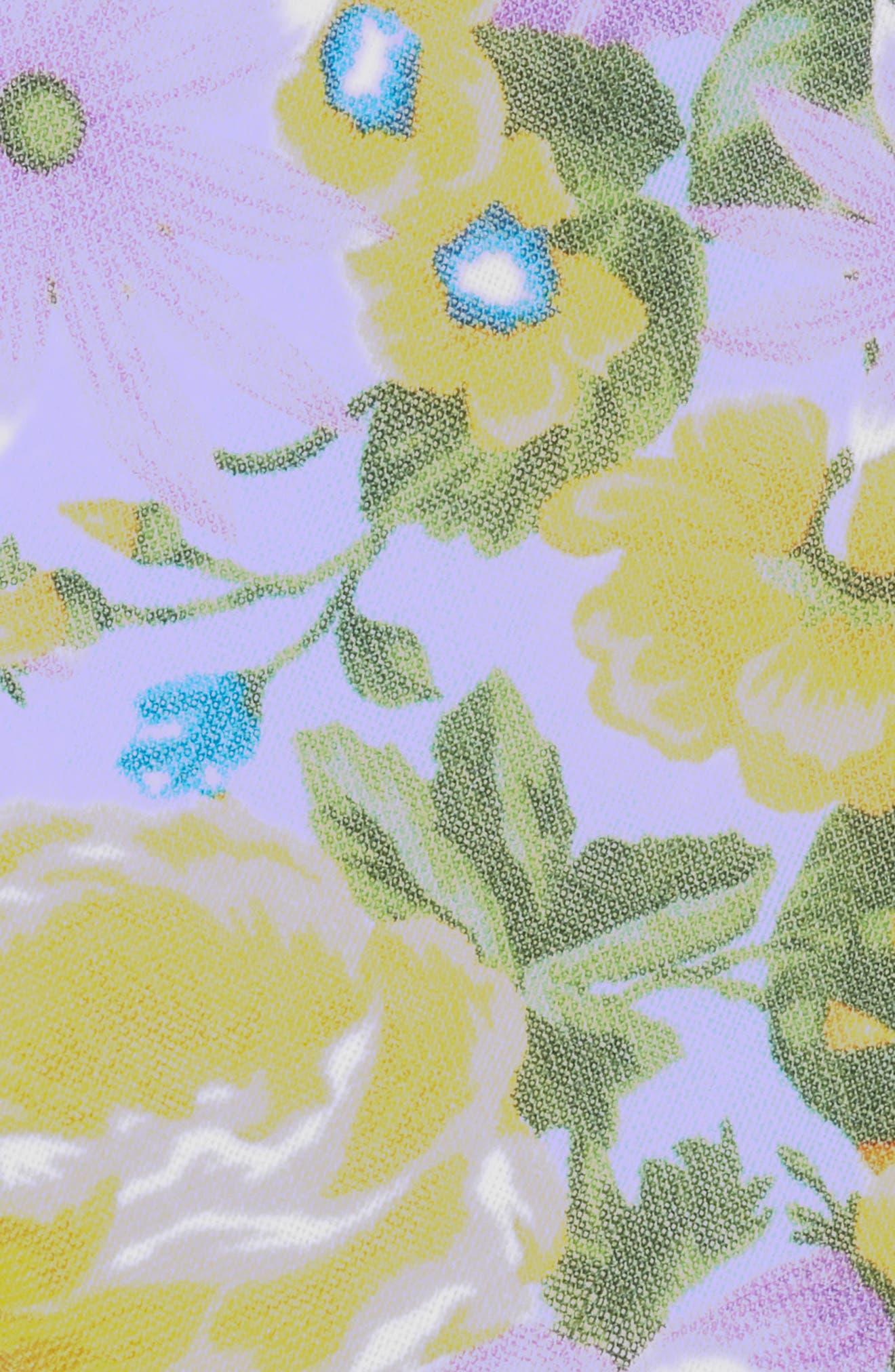 Duke Floral Linen Tie,                             Alternate thumbnail 2, color,                             LIGHT BLUE
