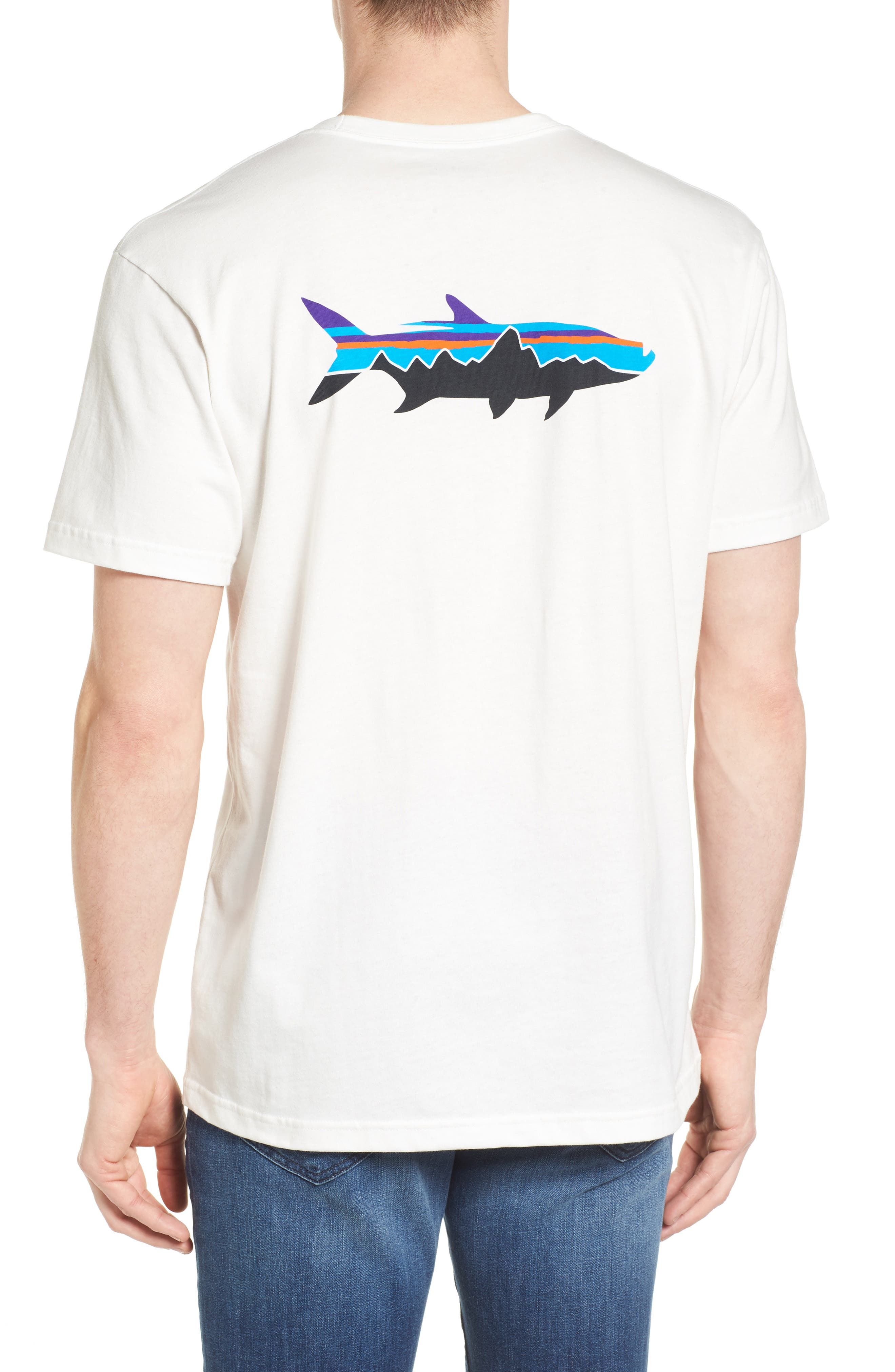 Fitz Roy Tarpon Regular Fit T-Shirt,                             Alternate thumbnail 3, color,