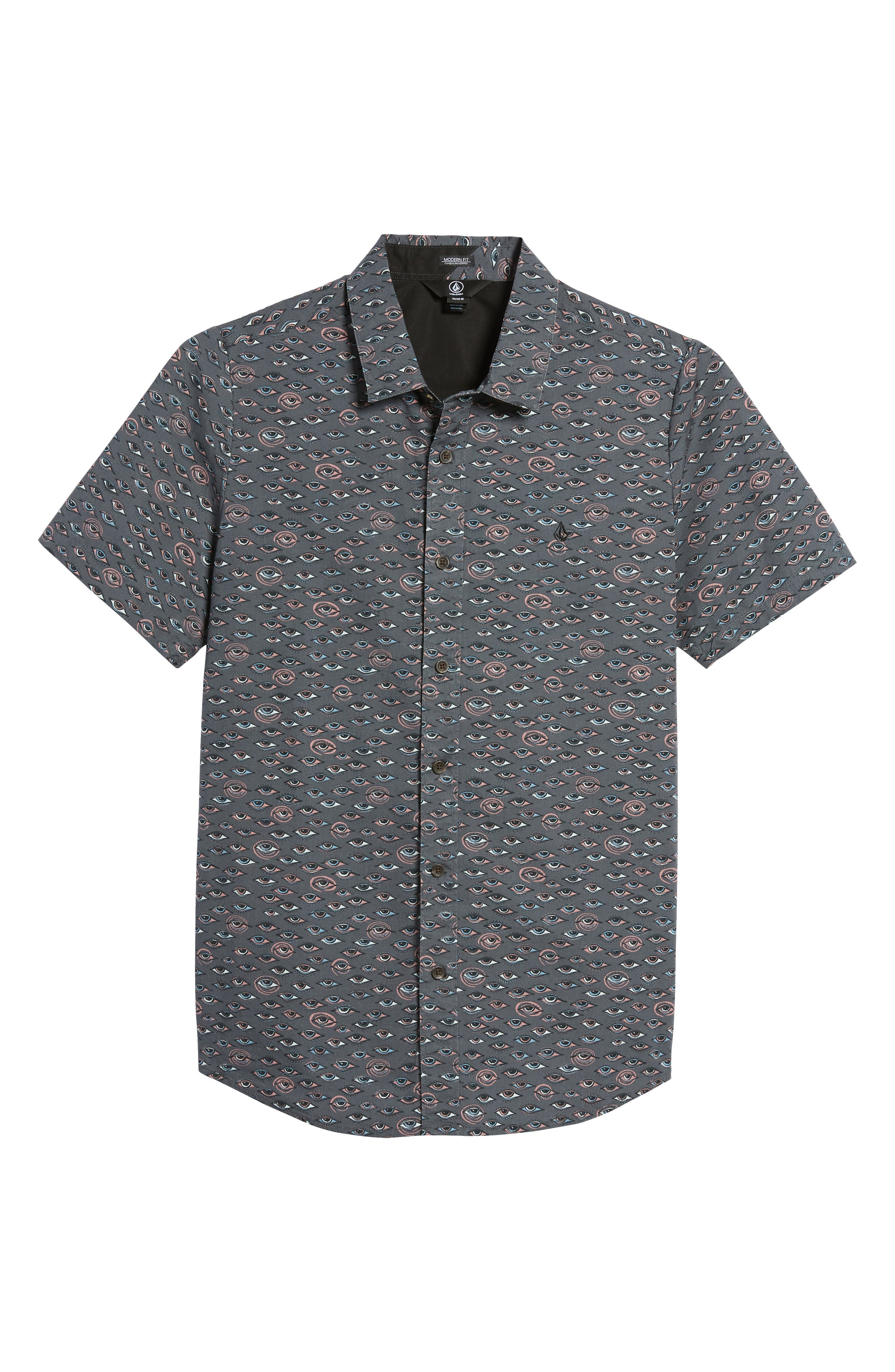 Burch Woven Shirt,                             Alternate thumbnail 6, color,                             020