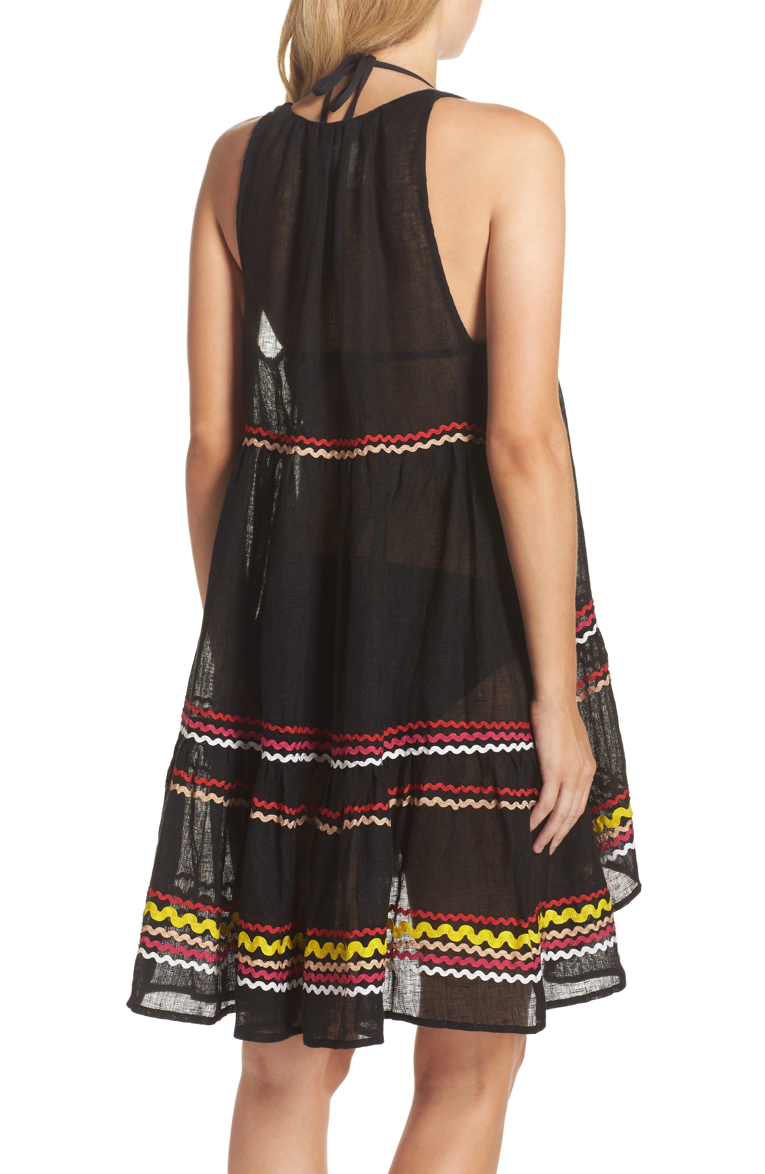 Mira Cover-Up Dress,                             Alternate thumbnail 2, color,                             001