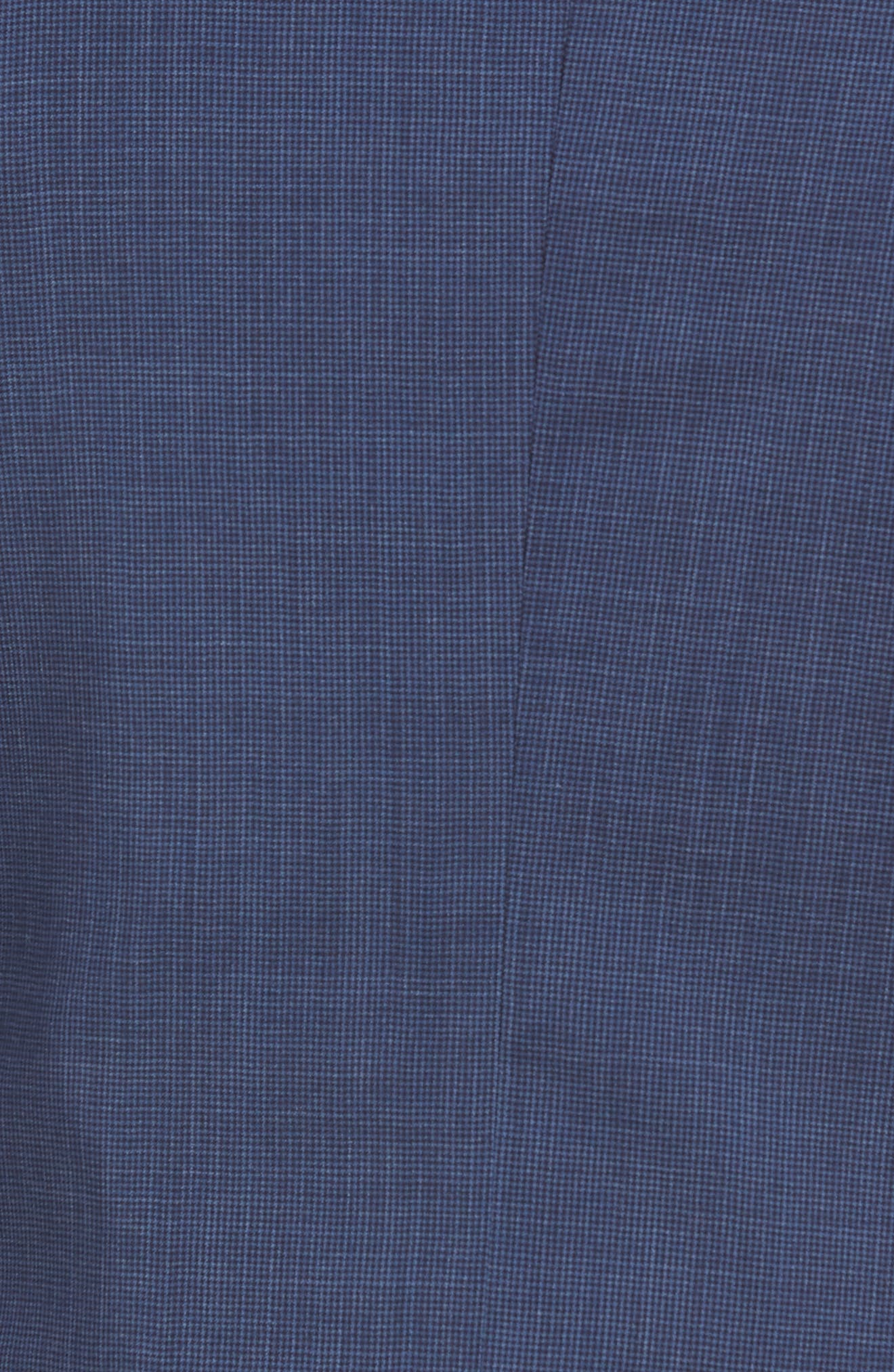 Johnstons/Lenon Classic Fit Houndstooth Wool Suit,                             Alternate thumbnail 9, color,                             BLUE