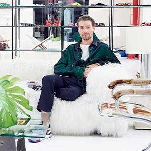 Sander Lak of the dreamy luxury brand Sies Marjan.