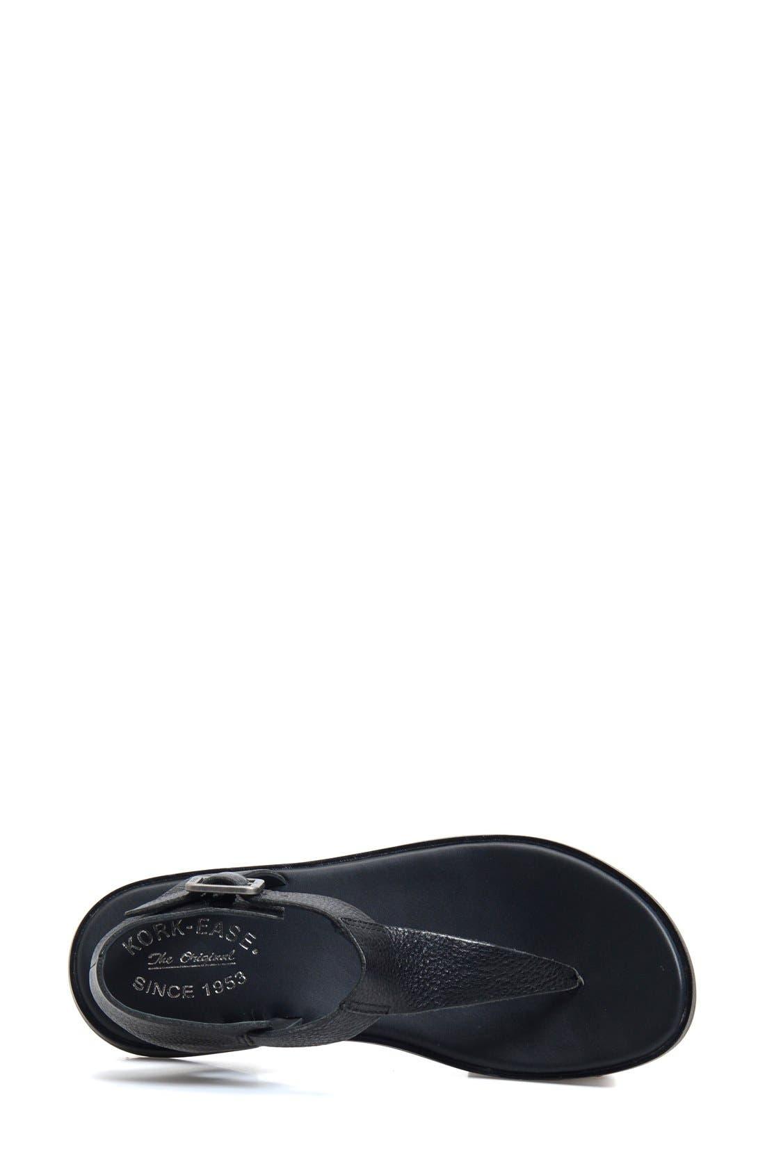 'Catriona' Flat Sandal,                             Alternate thumbnail 2, color,                             001