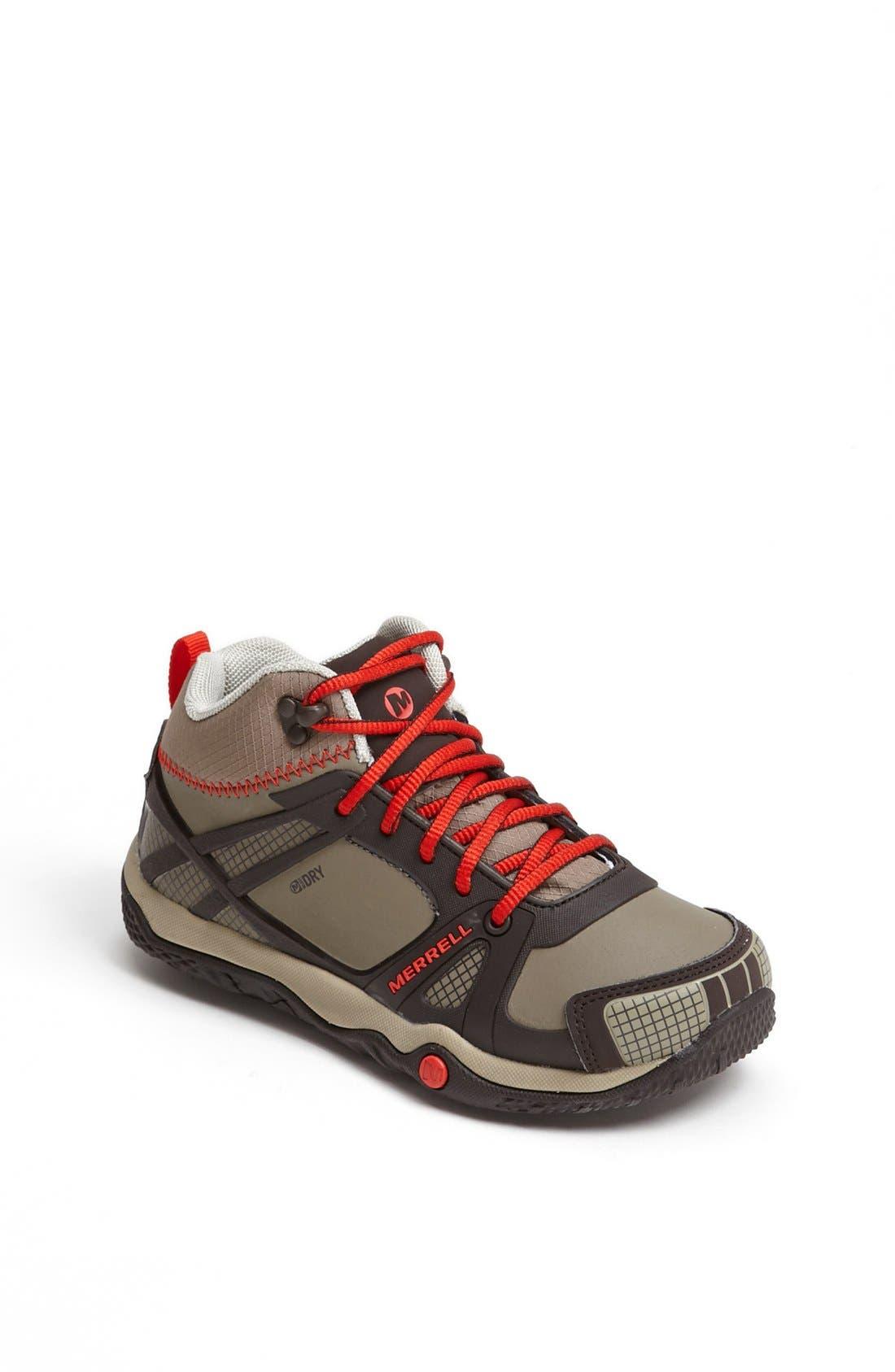 MERRELL 'Proterra' Mid High Waterproof Sneaker, Main, color, 201