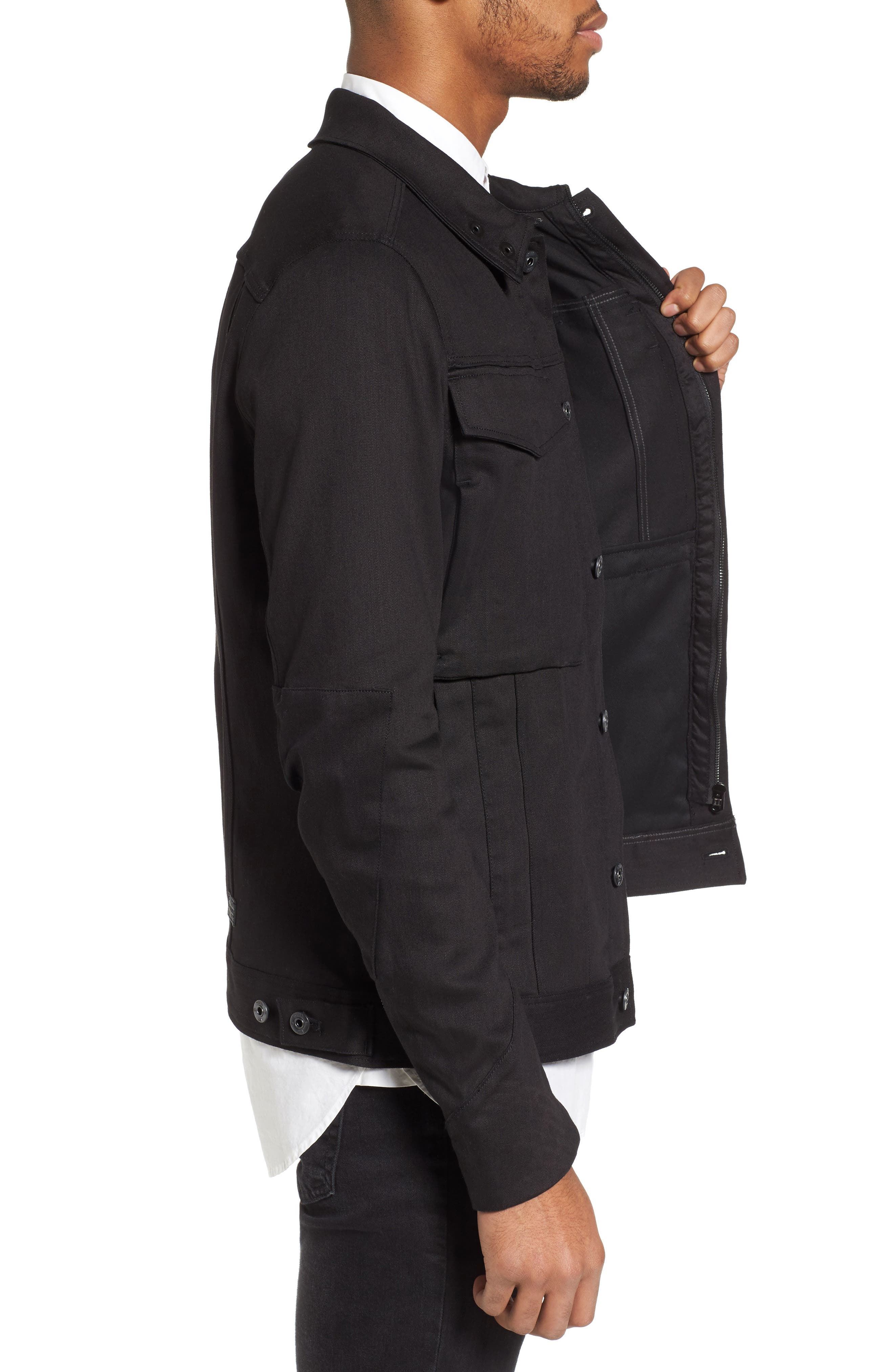 Vodan 3D Slim Jacket,                             Alternate thumbnail 3, color,                             401