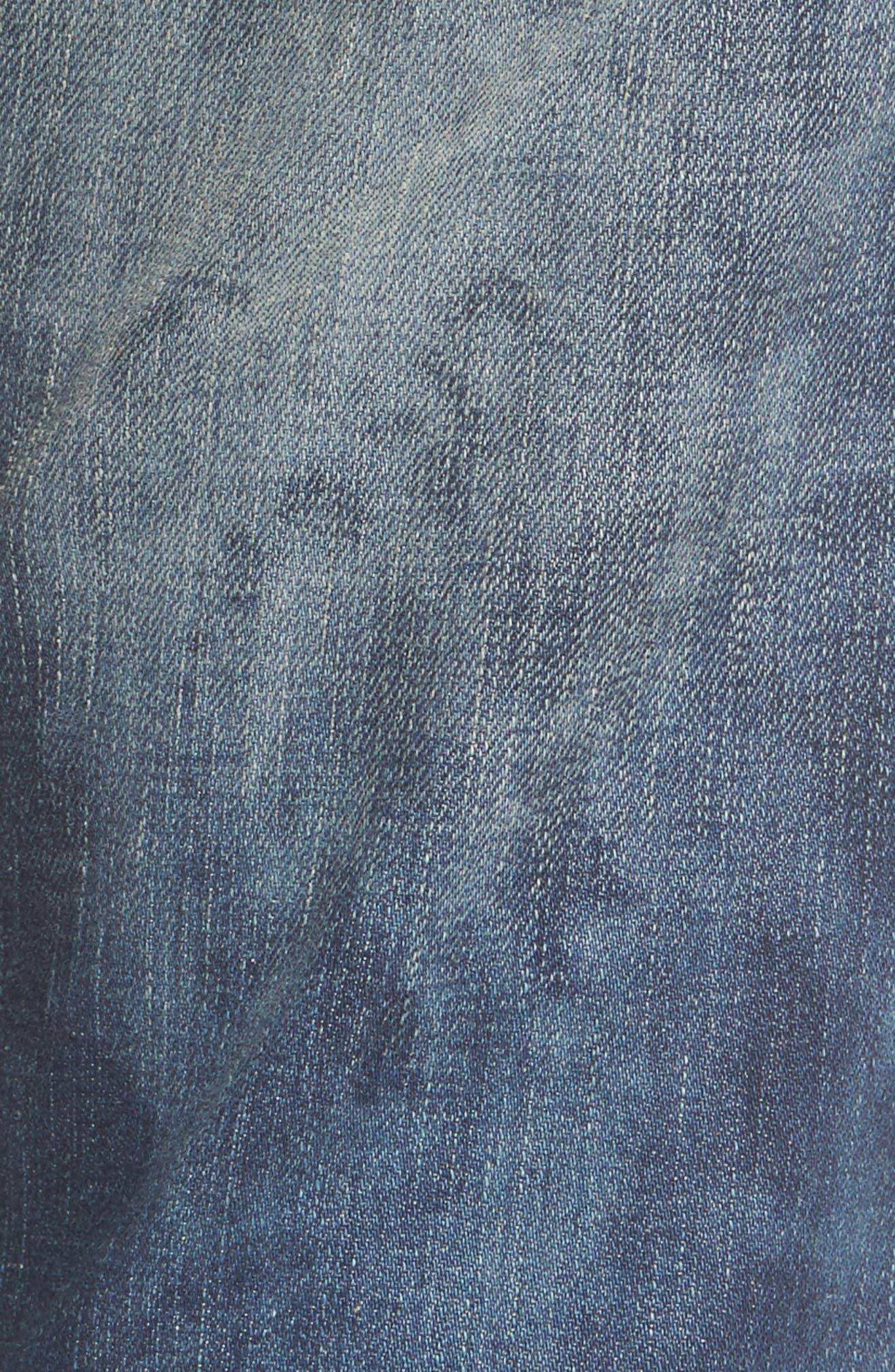 Cameron Slim Boyfriend Jeans,                             Alternate thumbnail 5, color,                             401